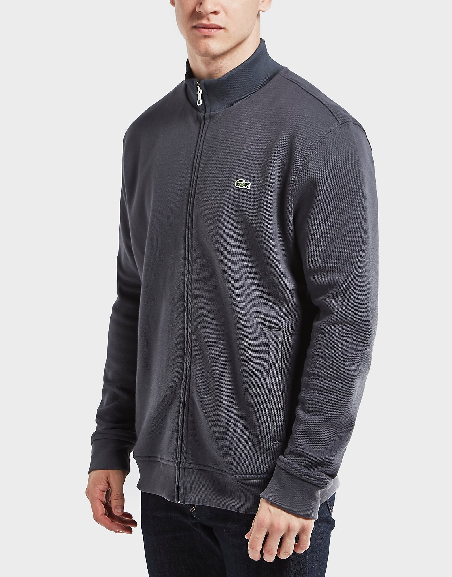 Lacoste Pique Zip Through Track Top