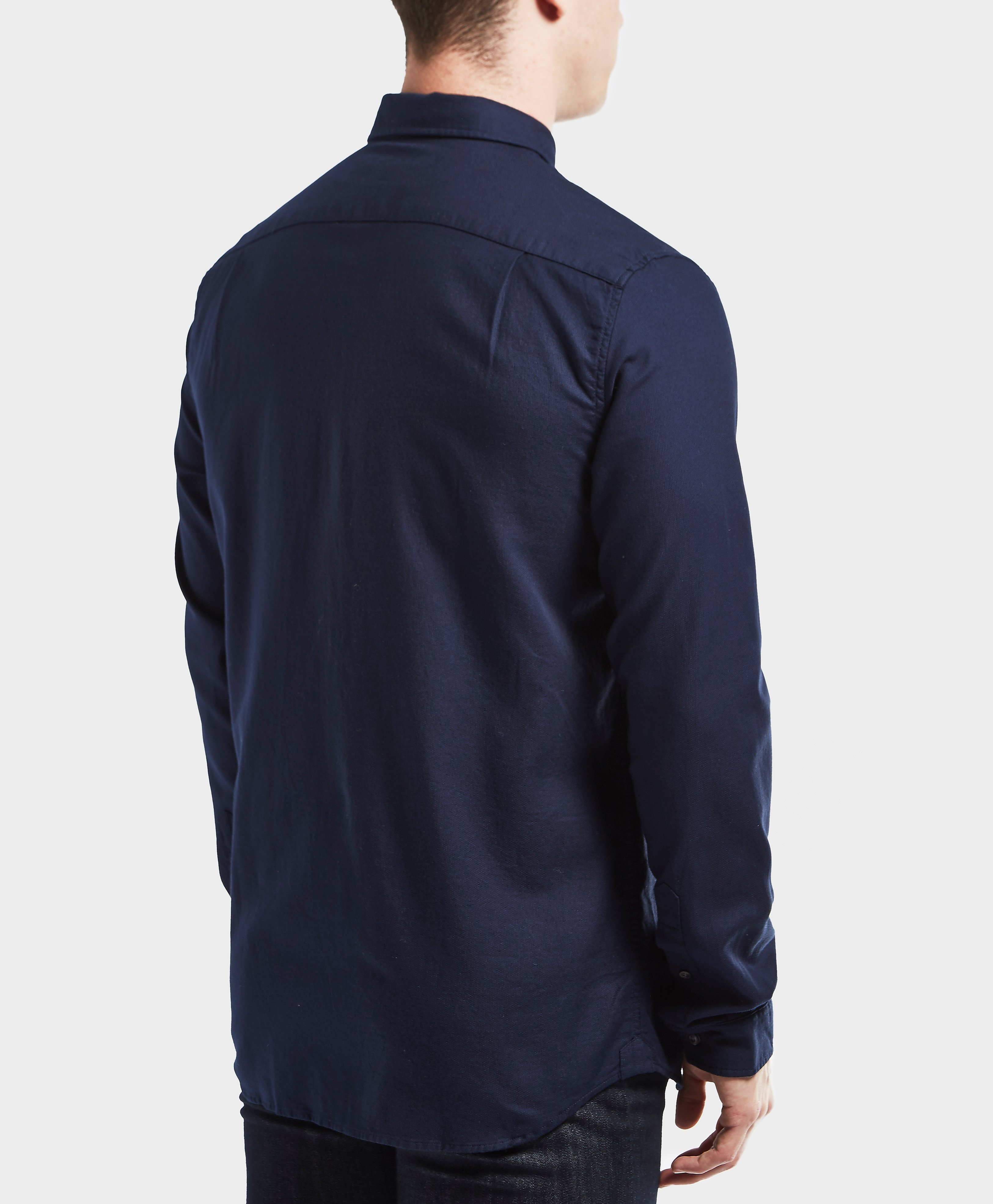 Lacoste Textured Long Sleeve Shirt