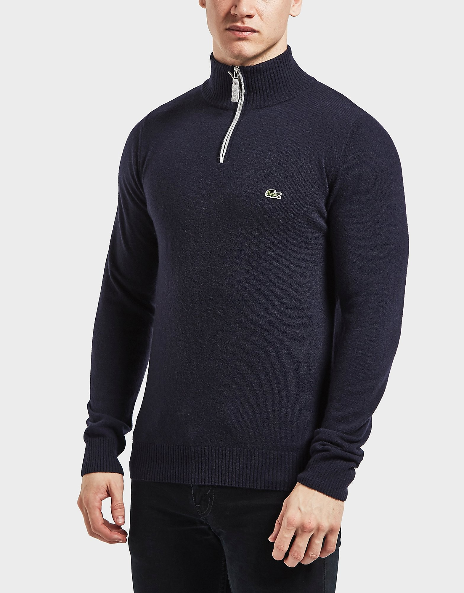 Lacoste Knitted Half Zip Jumper