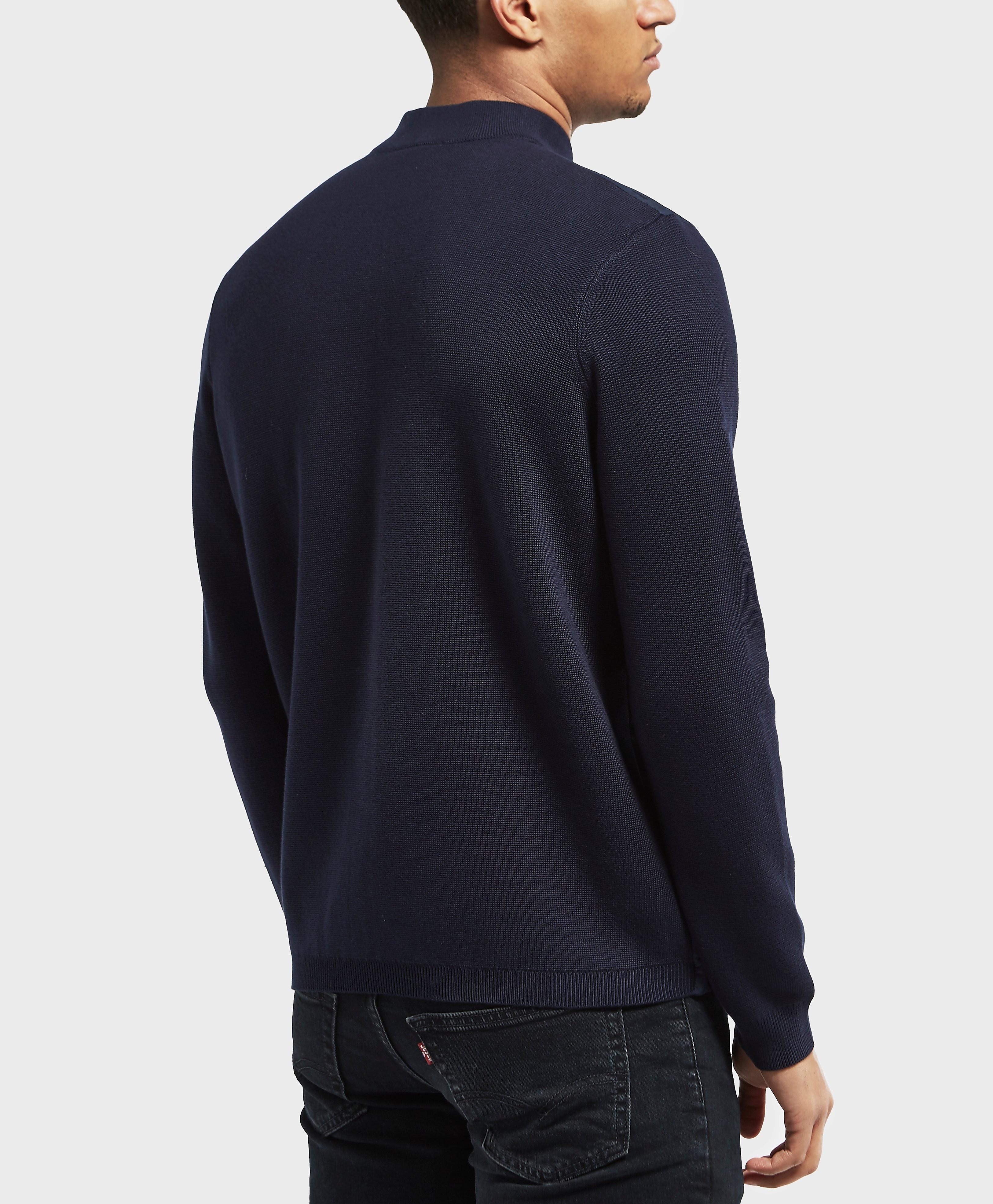 Lacoste Zip Through Knit Jumper