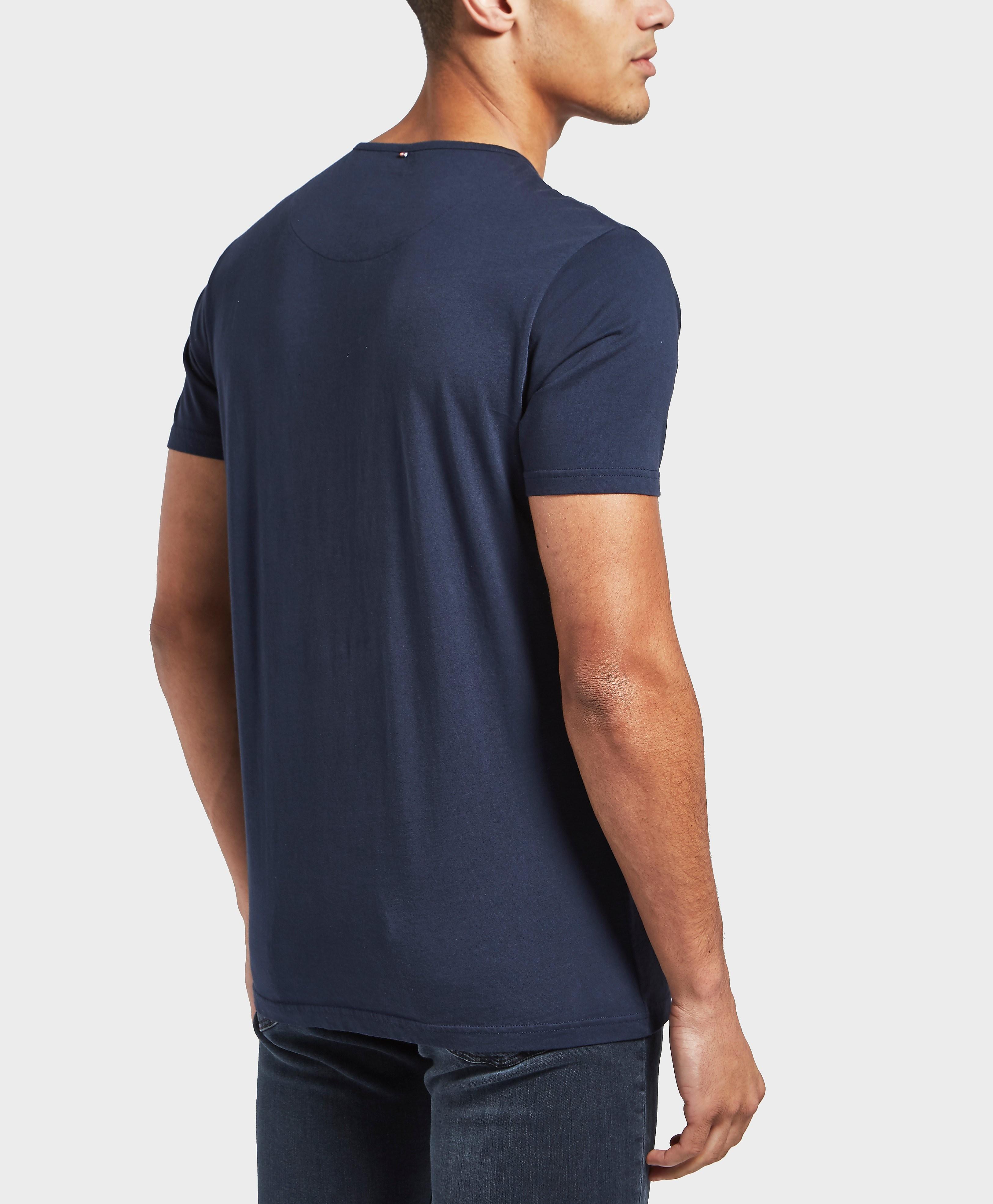 Pretty Green Paisley Applique Short Sleeve T-Shirt