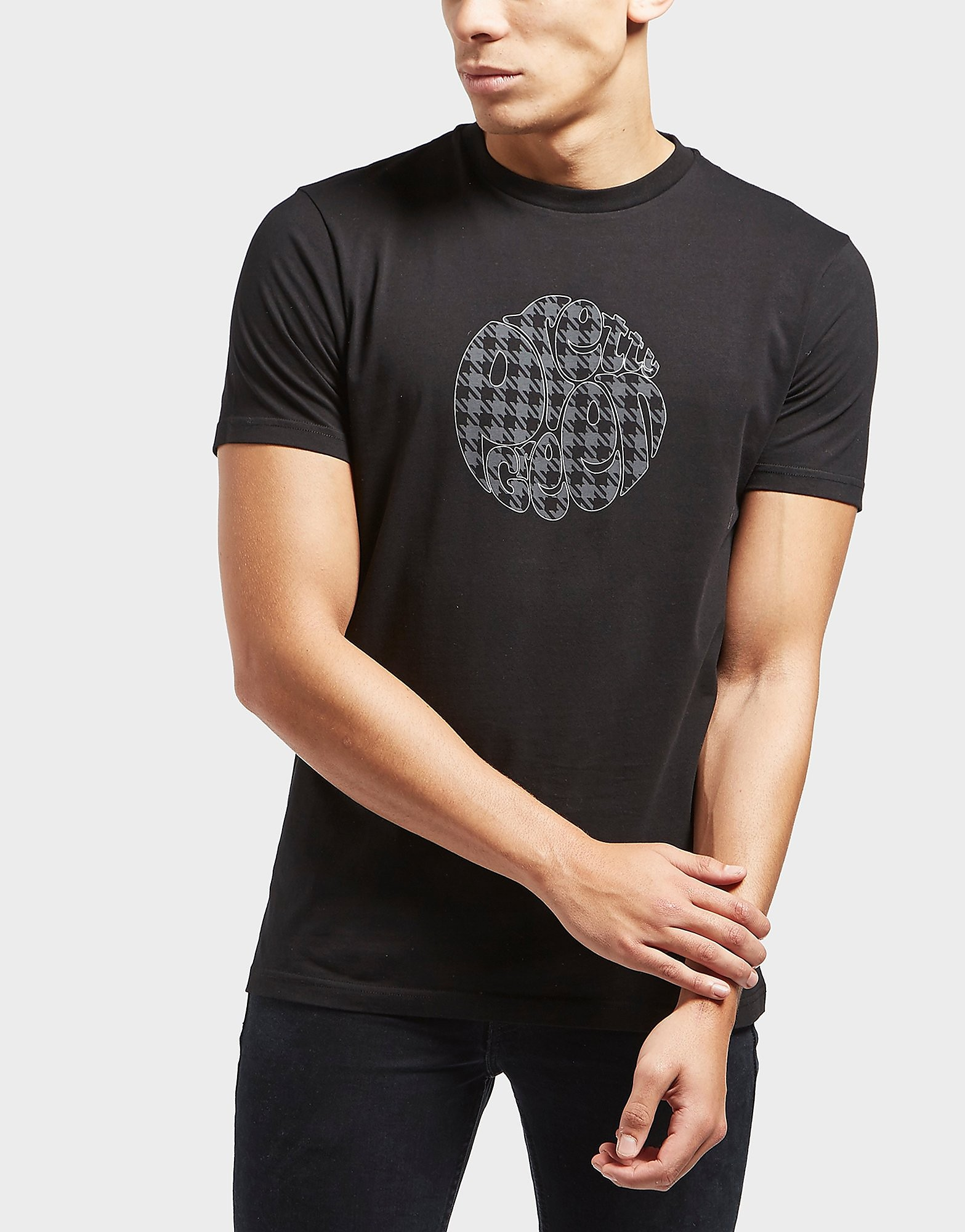 Pretty Green Houndstooth Short Sleeve T-Shirt - Exclusive