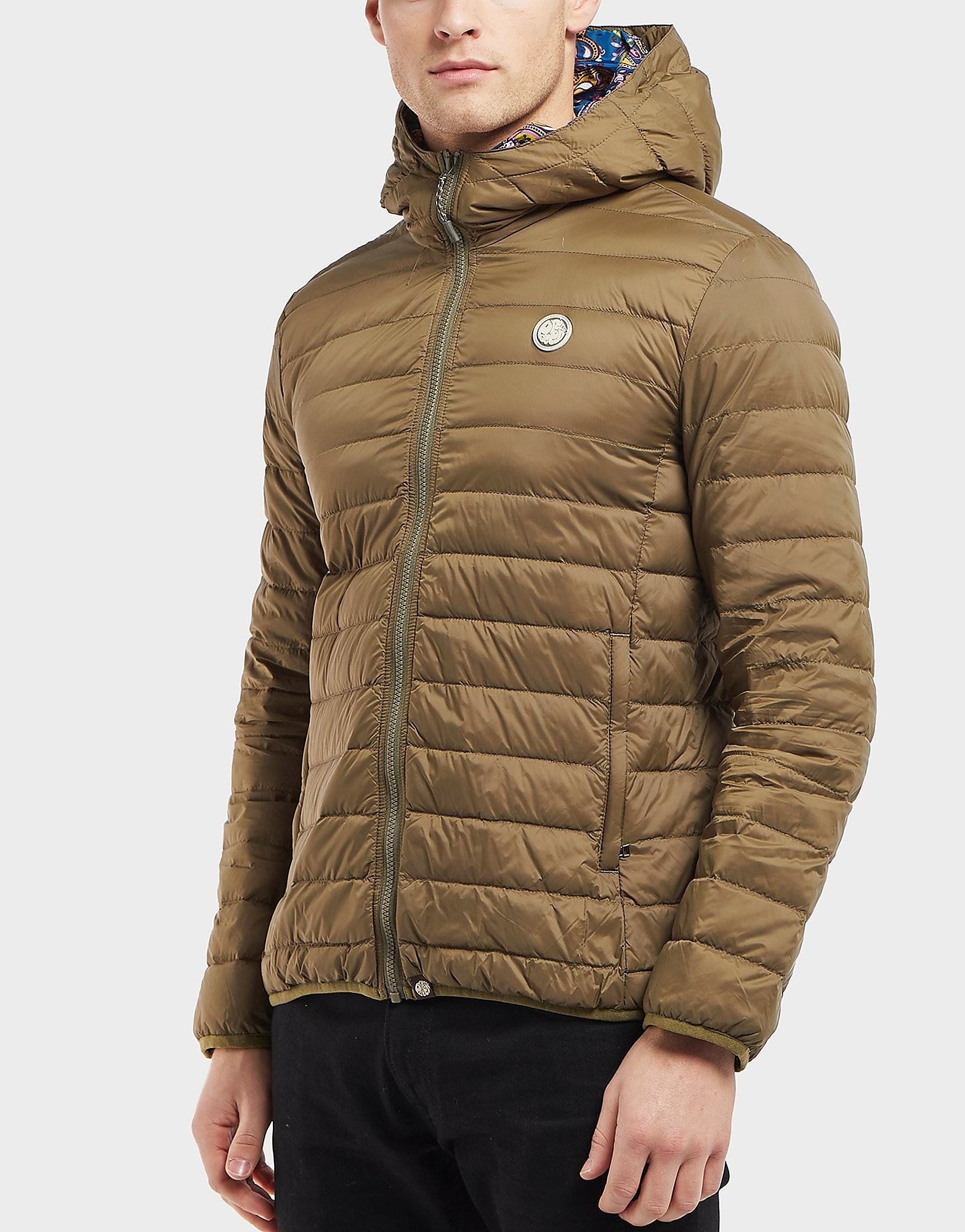 Pretty Green Barker Quilted Jacket - Exclusive