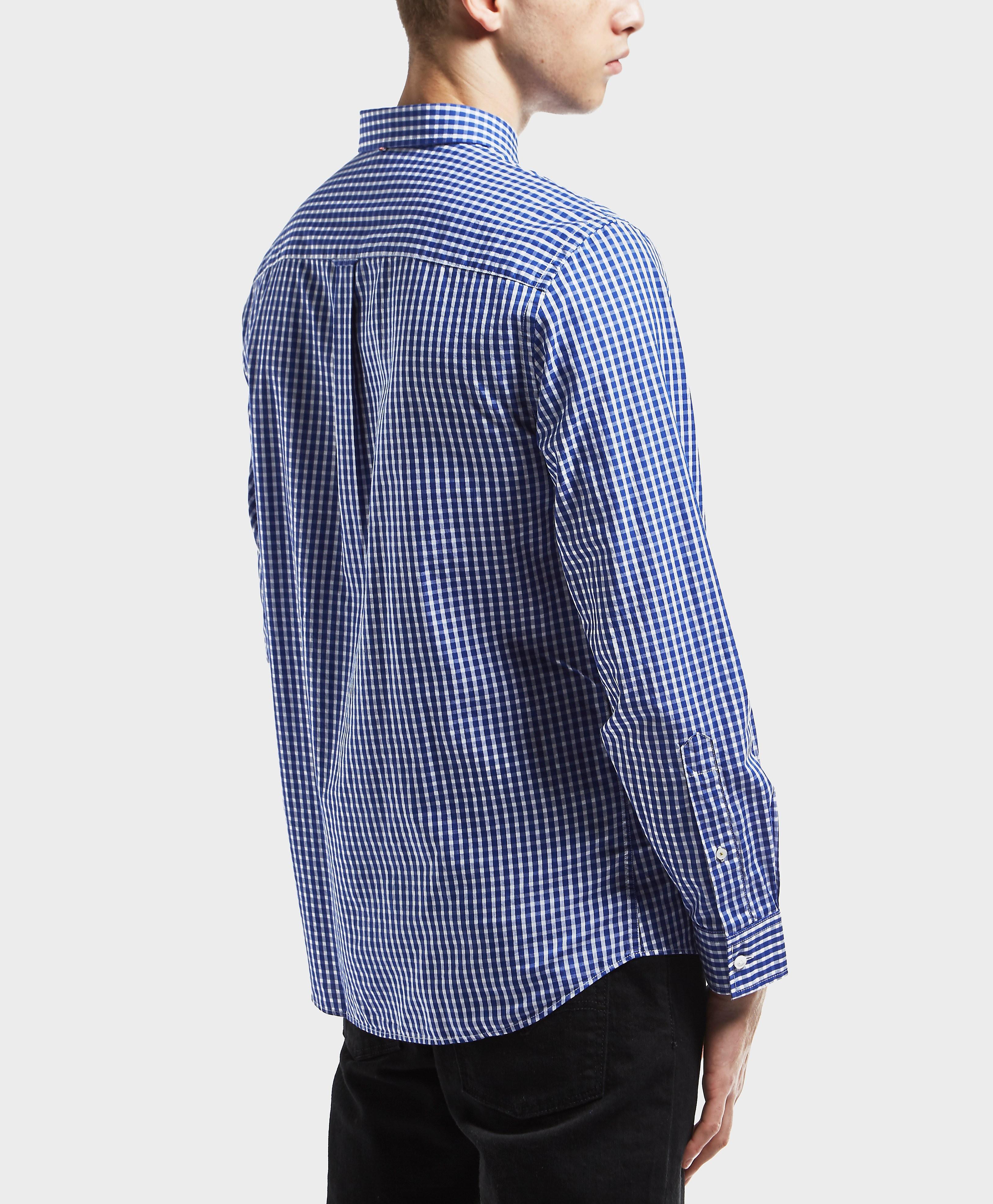 Pretty Green Gingham Long Sleeve Shirt