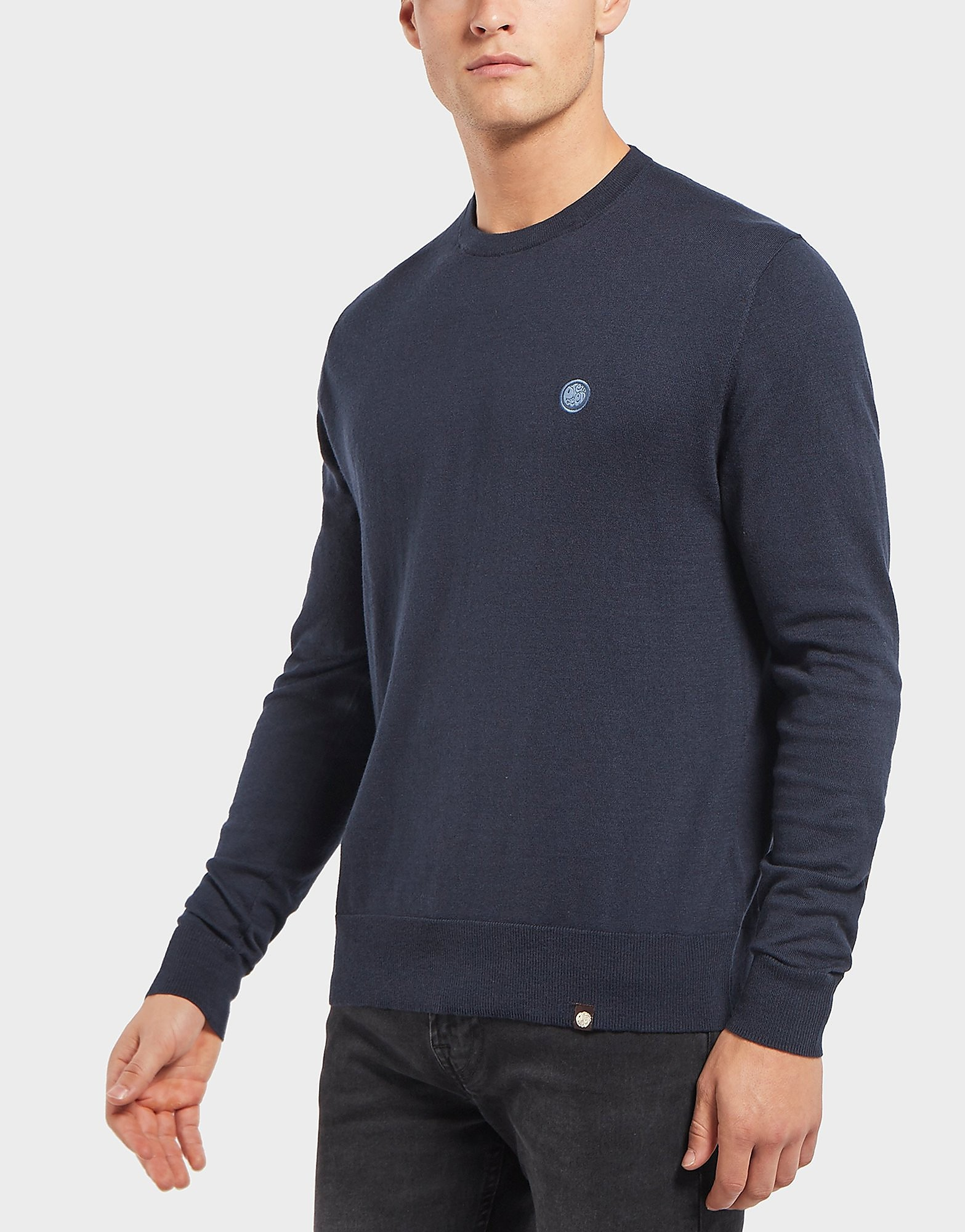 Pretty Green Knitted Crew Jumper