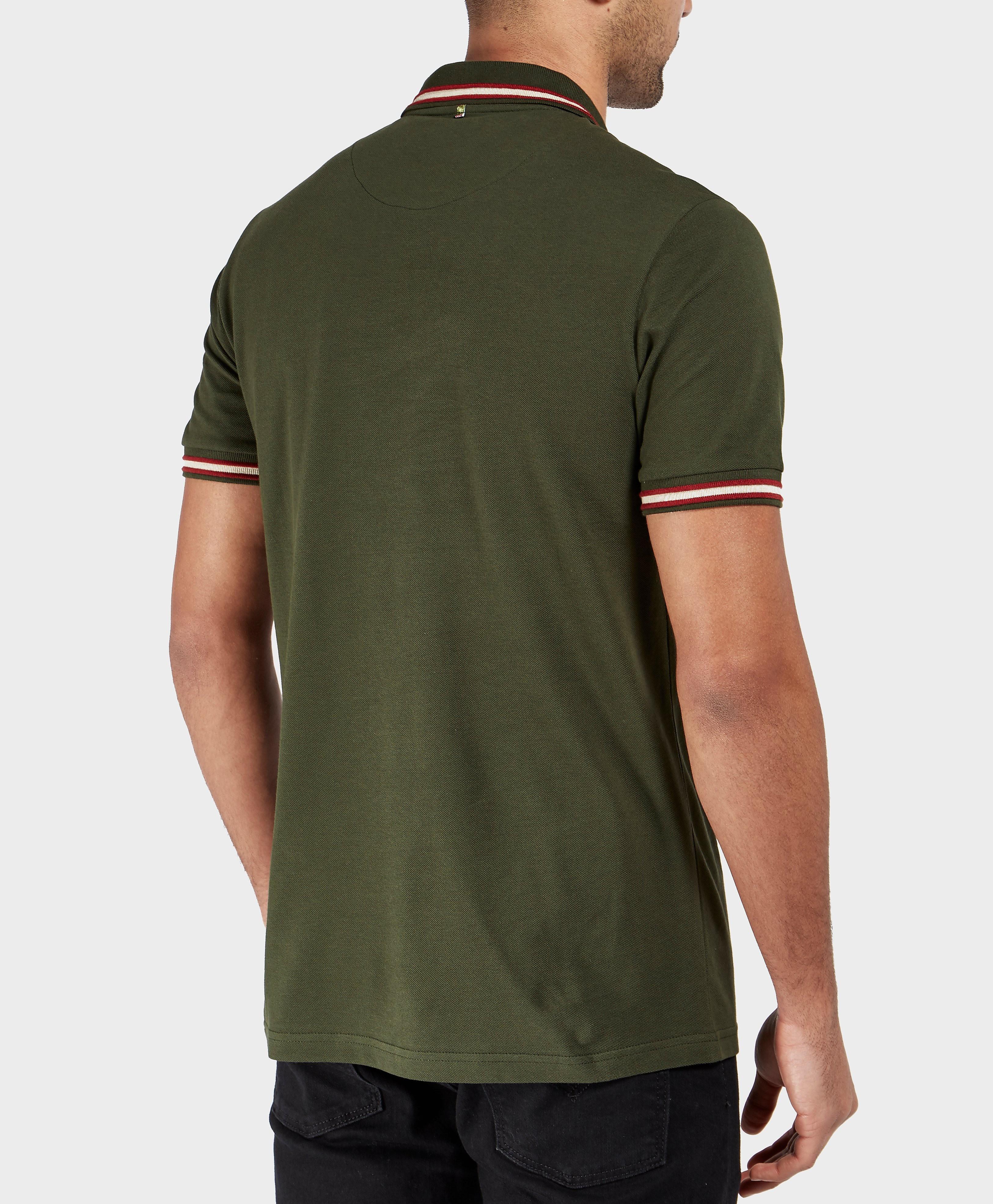 Pretty Green Bennet Tip Short Sleeve Polo Shirt