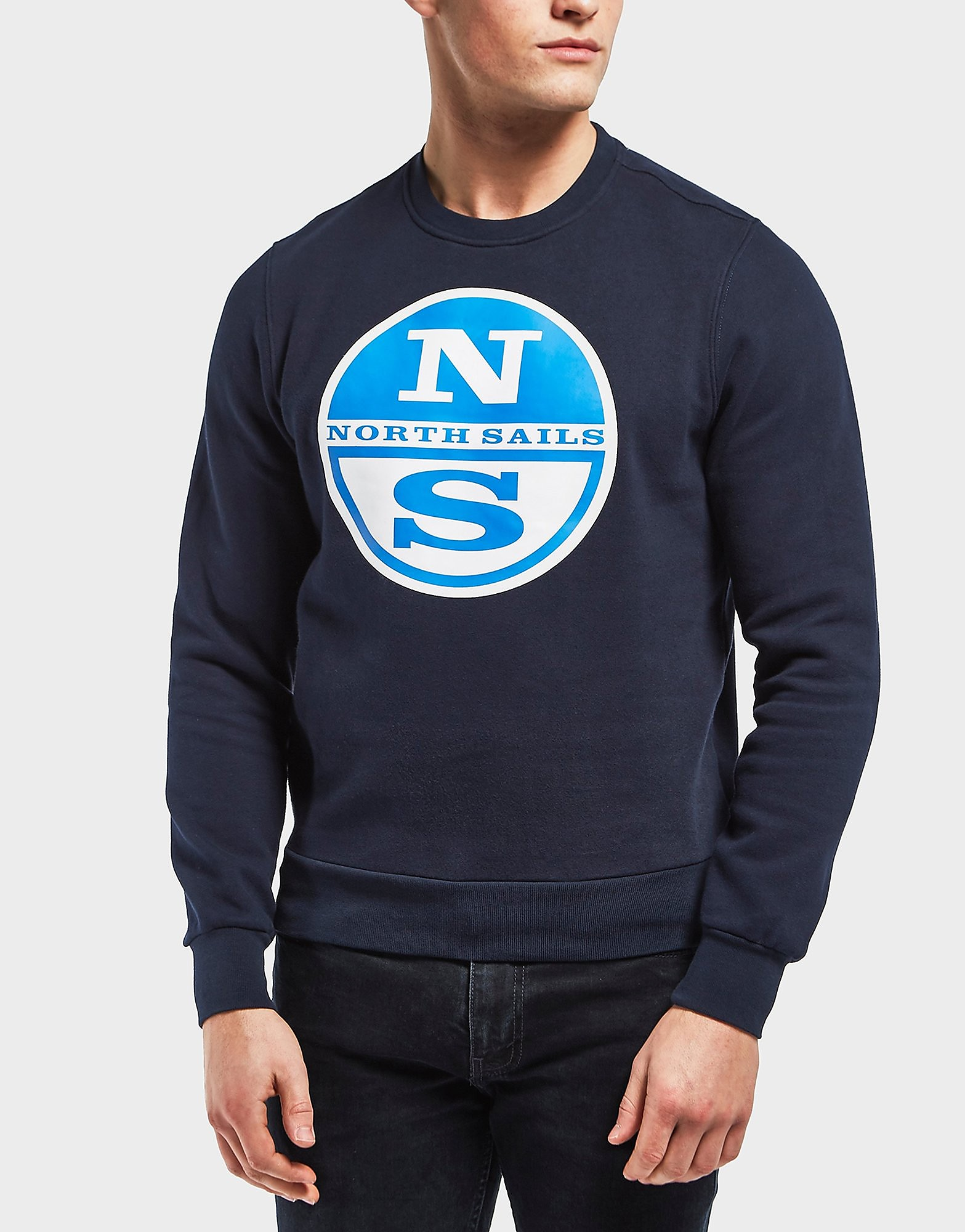 NORTH SAILS Logo Print Sweatshirt
