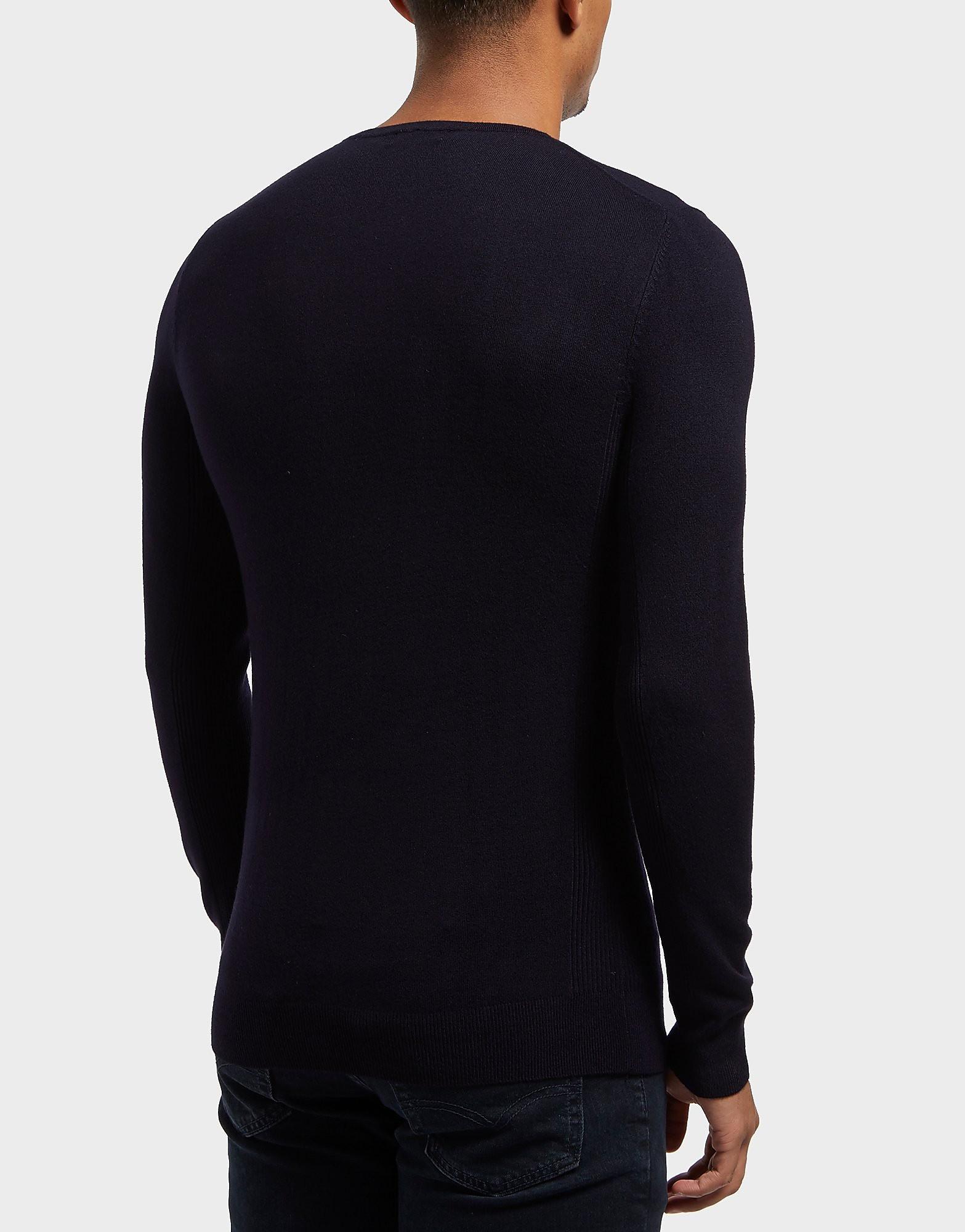 Antony Morato Plaque Knitted Jumper