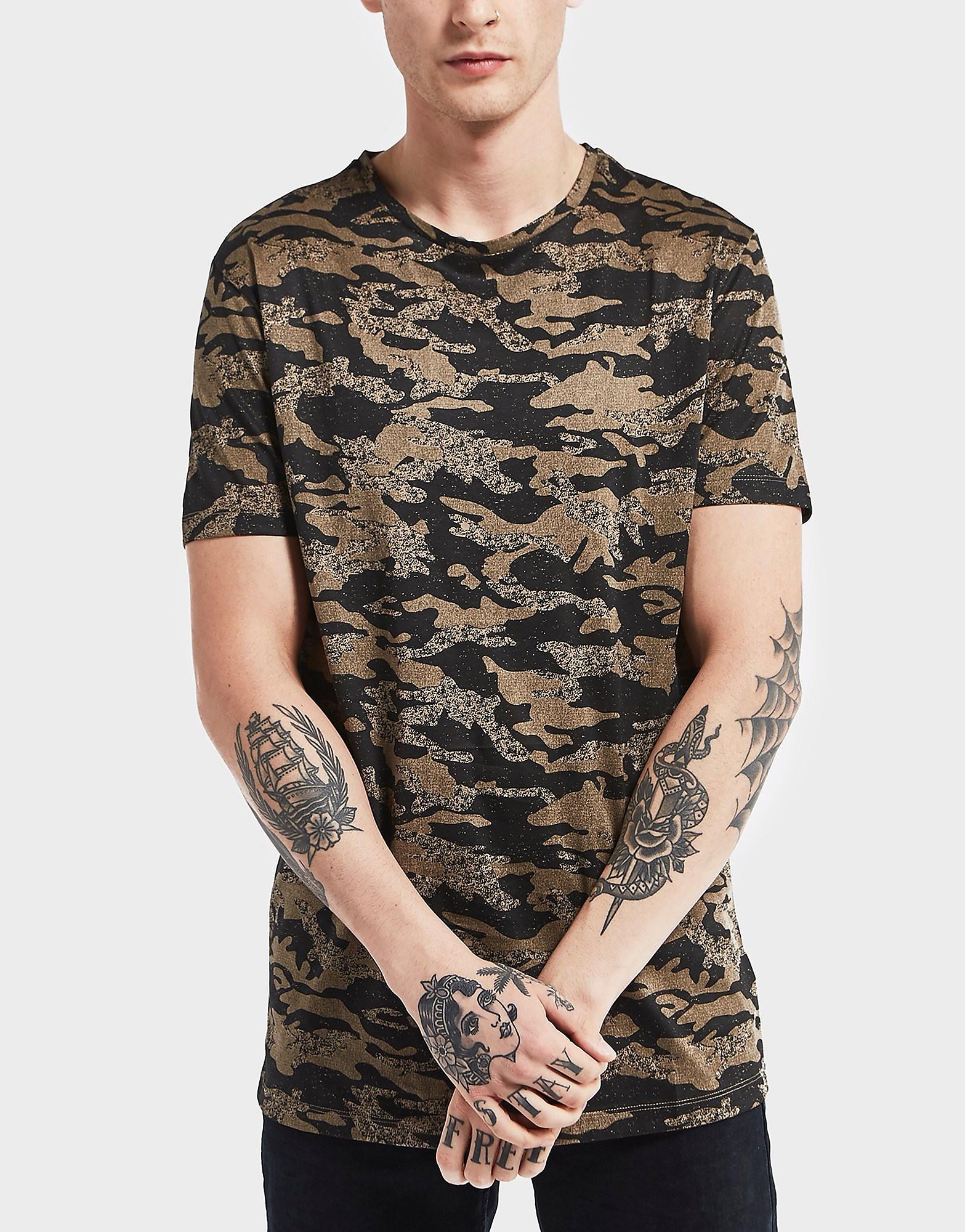 Antony Morato Camoflauge Short Sleeve T-Shirt