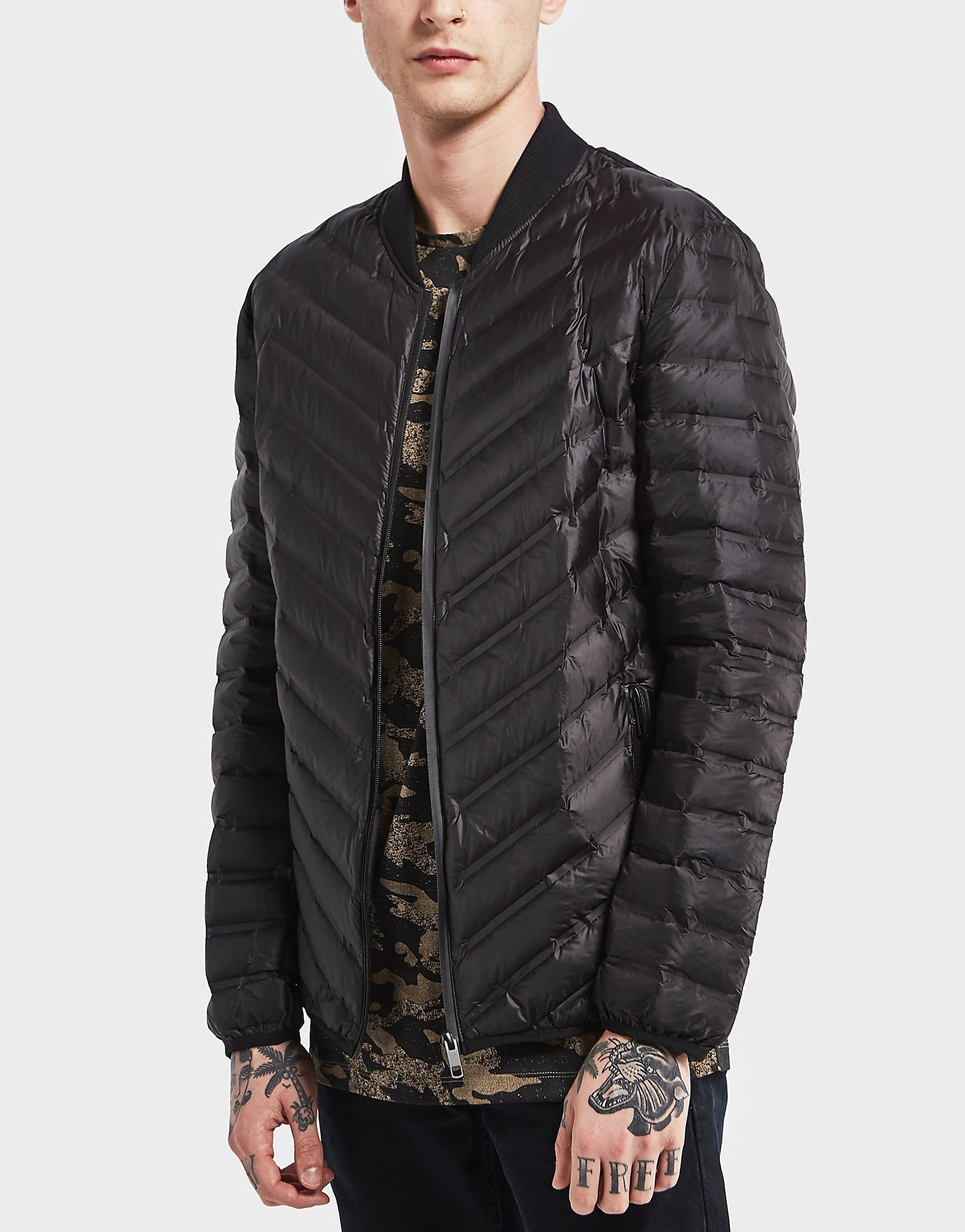 Antony Morato Quilted Lightweight Bomber Jacket