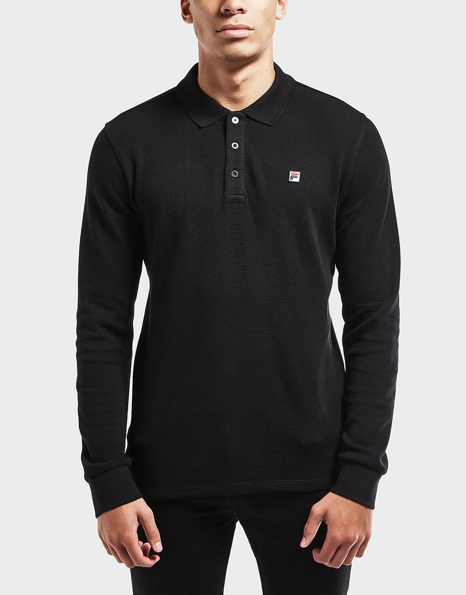 Fila Bertoni Long Sleeve Polo Shirt
