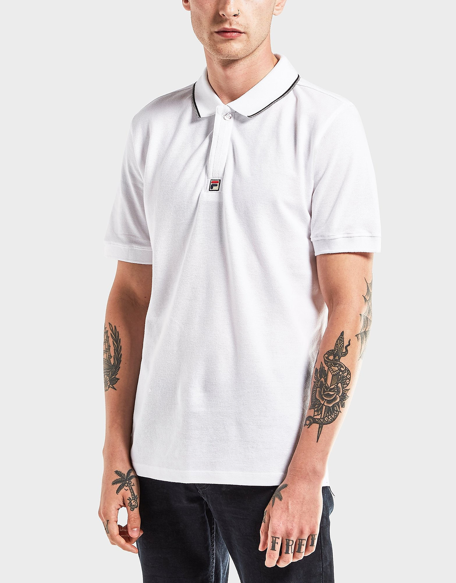 Fila Lomardo Short Sleeve Polo Shirt