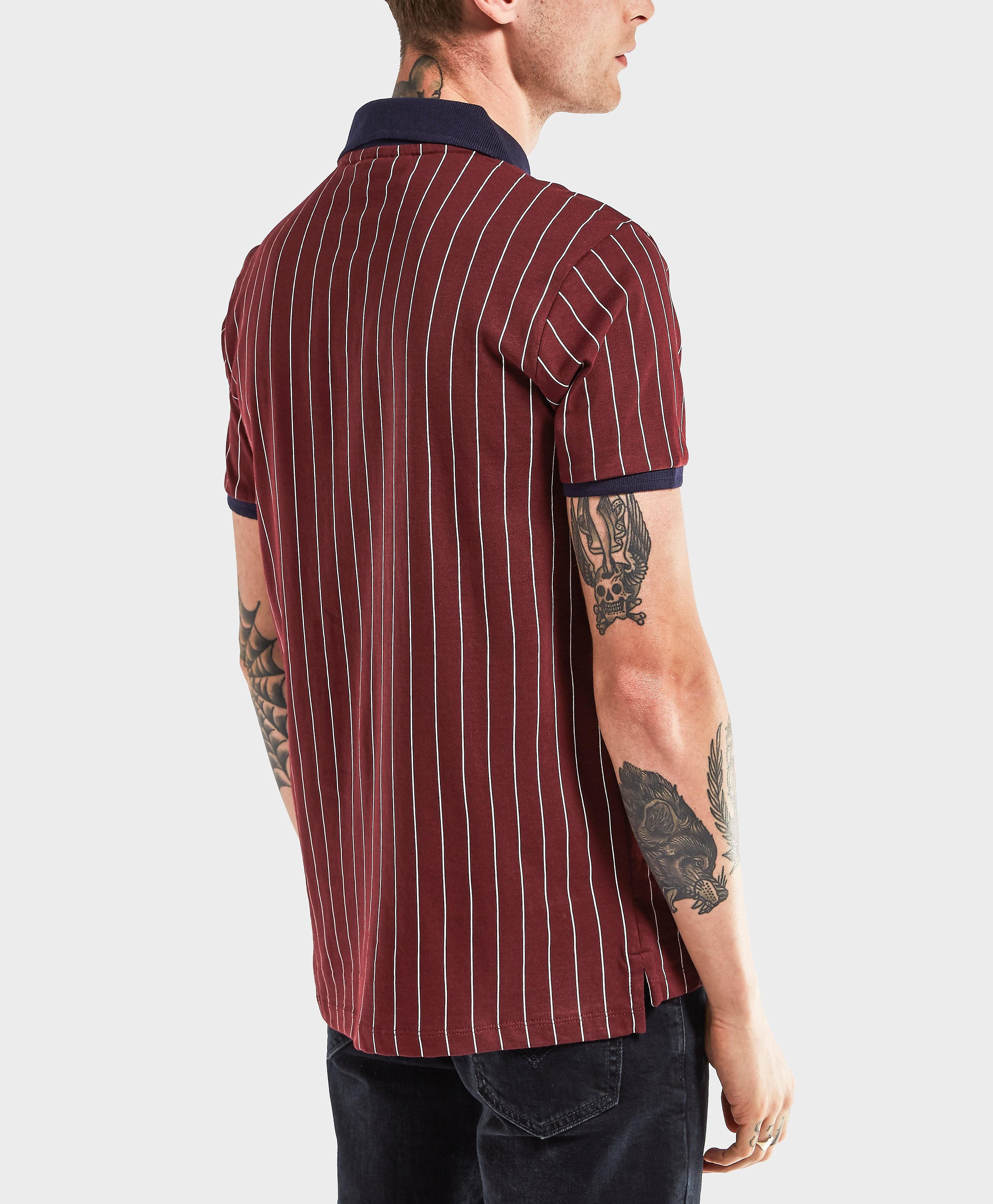 Fila BB1 Stripe Short Sleeve Polo Shirt