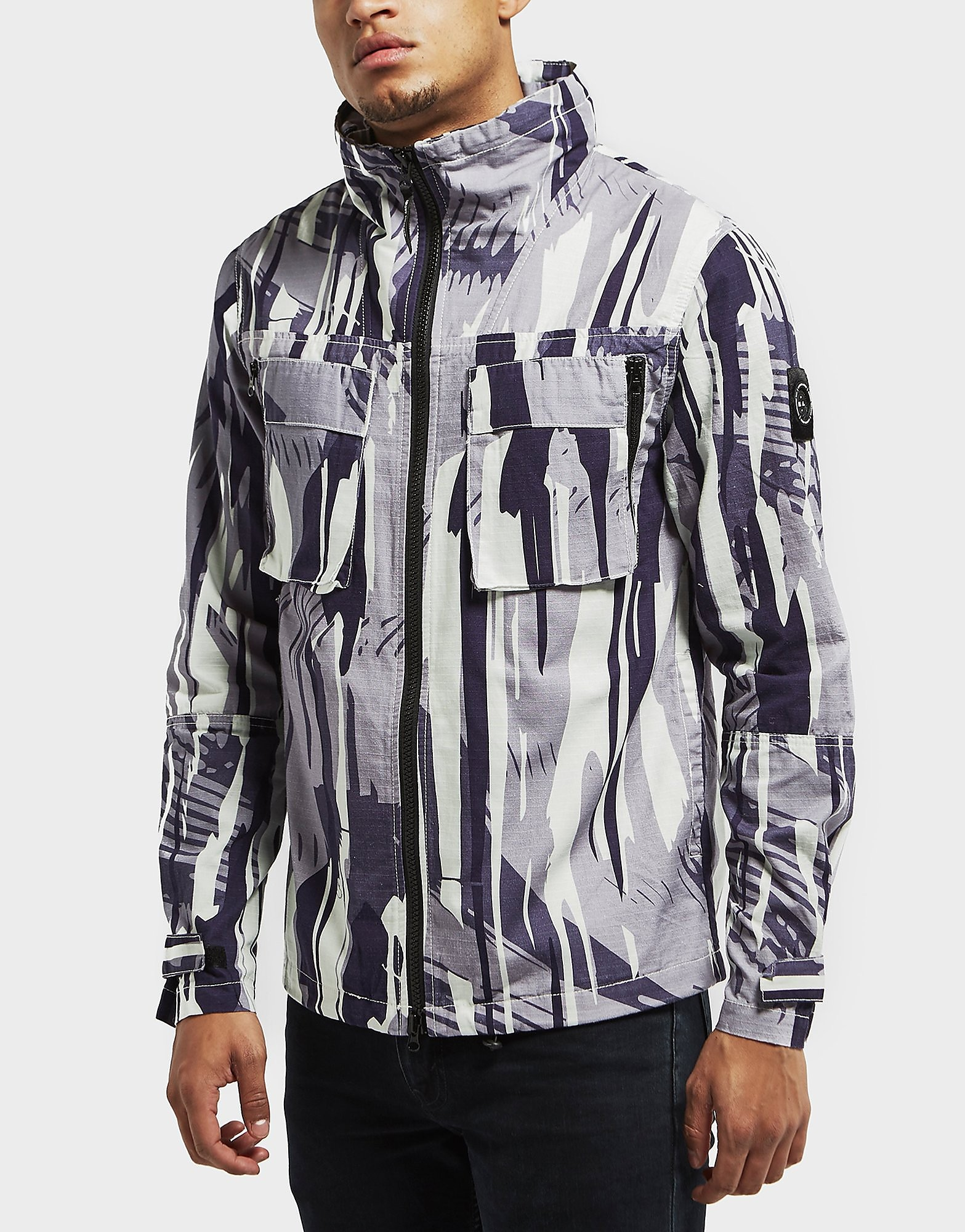Marshall Artist All Over Print Ripstop Jacket