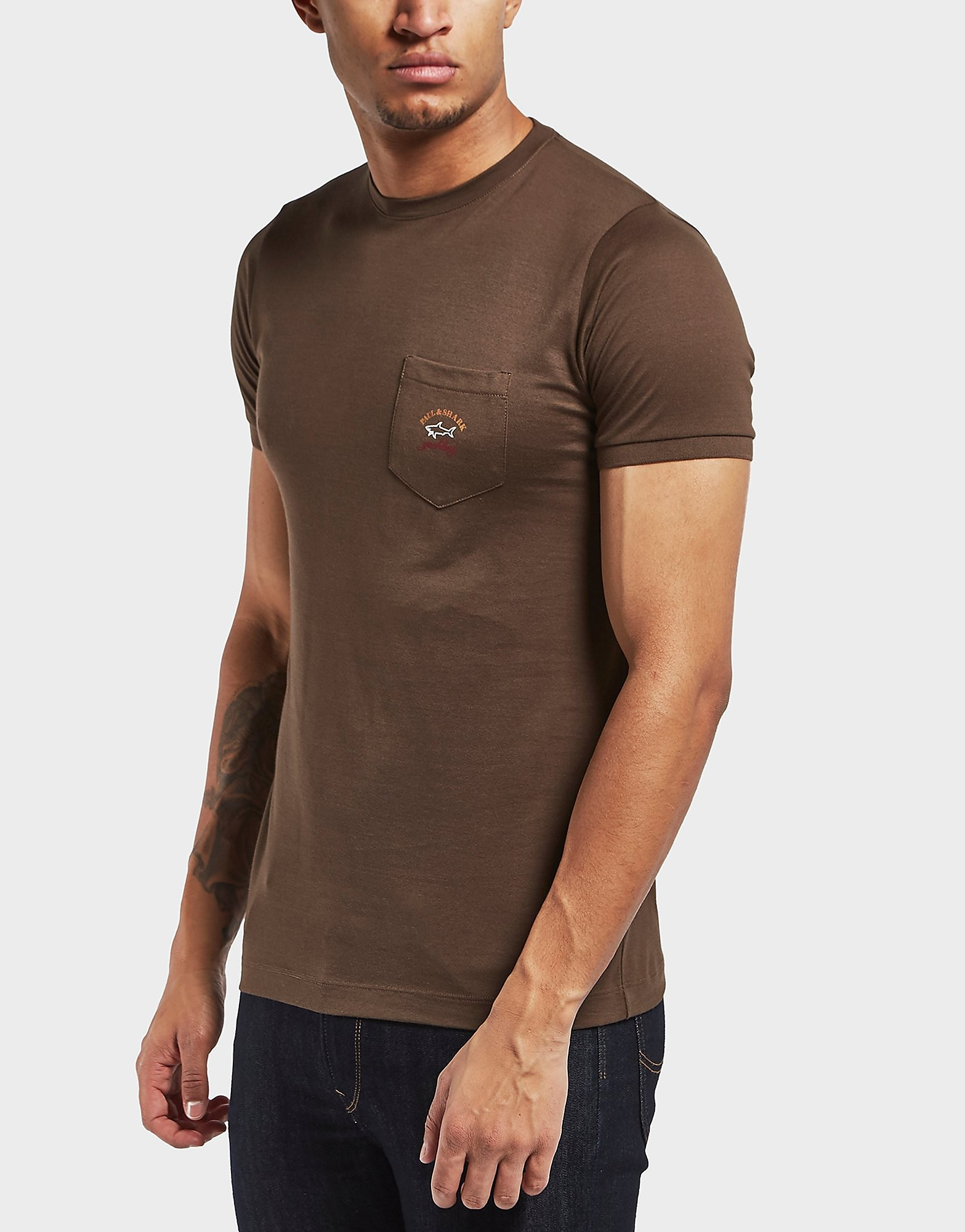 Paul and Shark Pocket Short Sleeve T-Shirt - Exclusive
