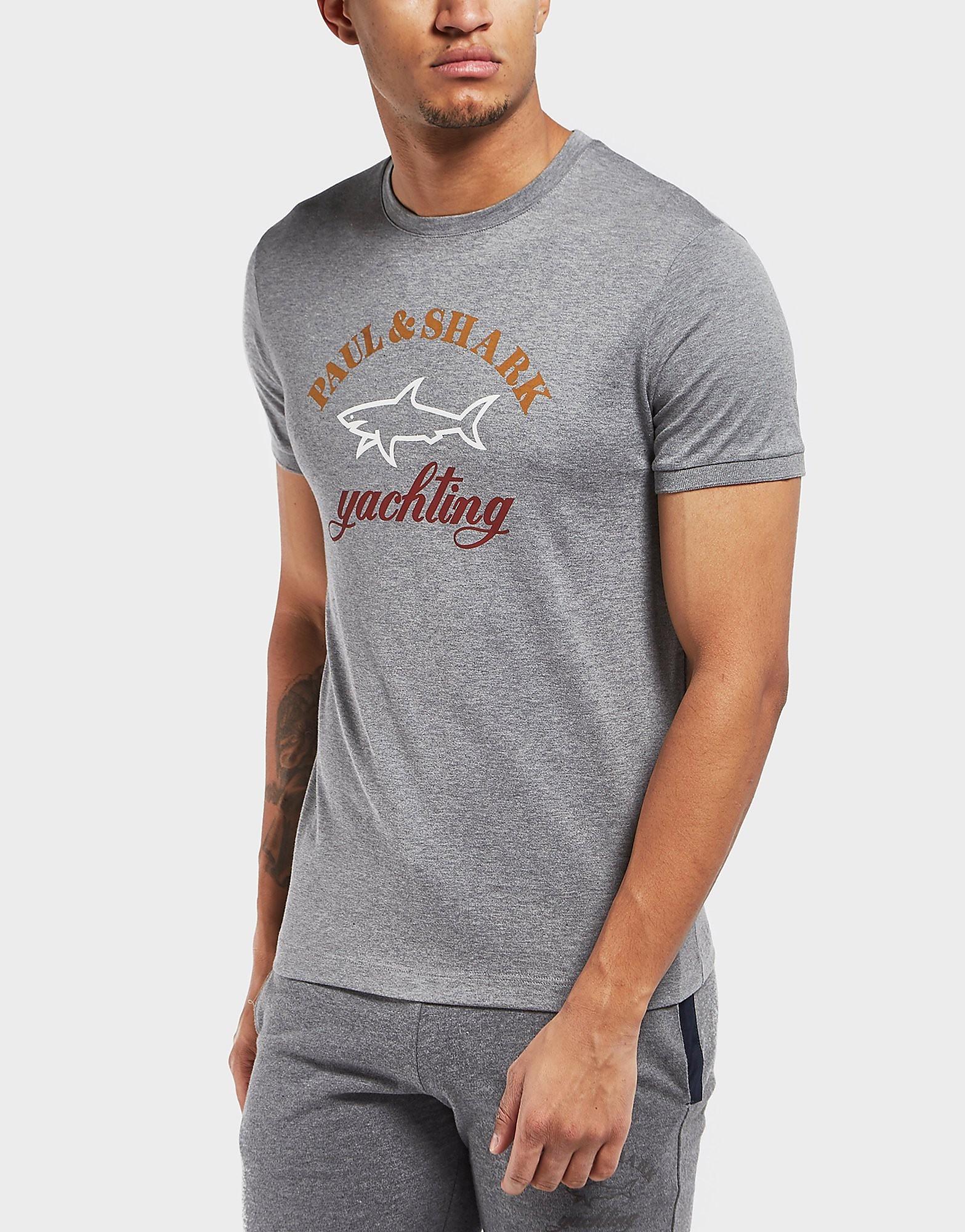 Paul and Shark Branded Short Sleeve T-Shirt
