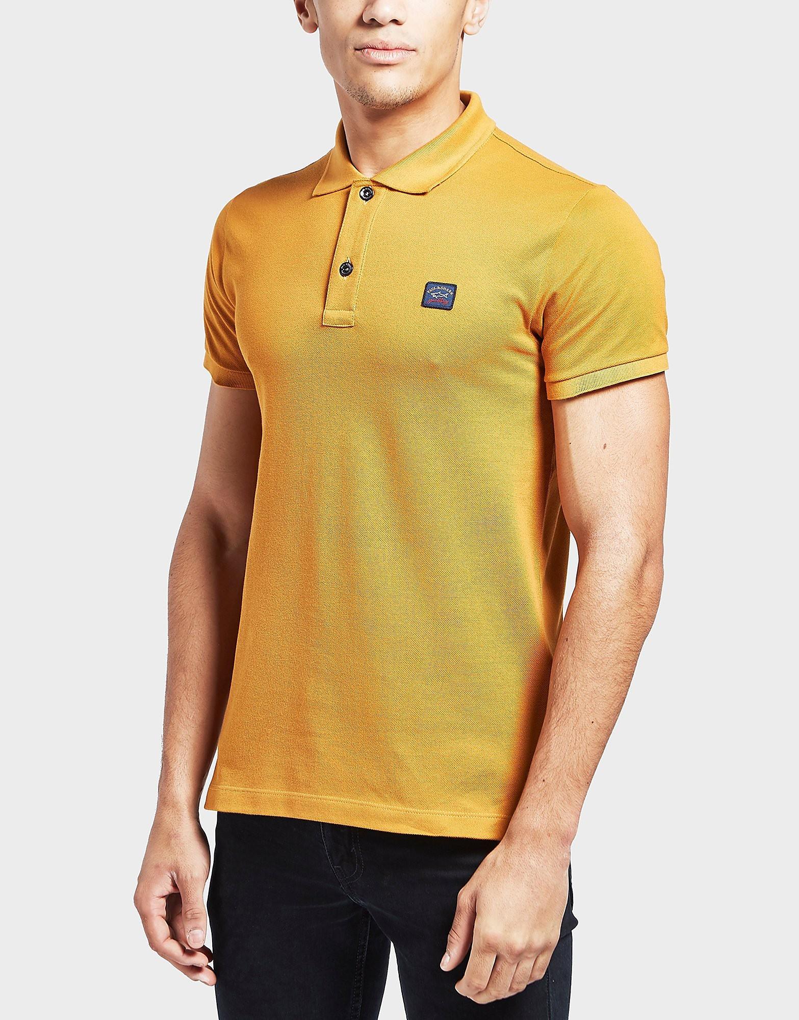 Paul and Shark Pique Short Sleeve Polo Shirt