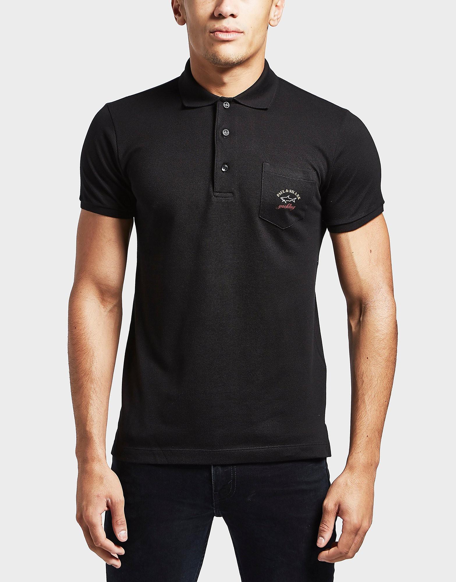 Paul and Shark Pocket Short Sleeve Polo Shirt