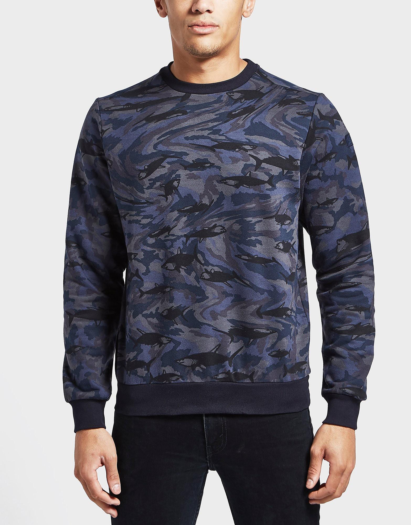 Paul and Shark Camoflauge Shark Sweatshirt