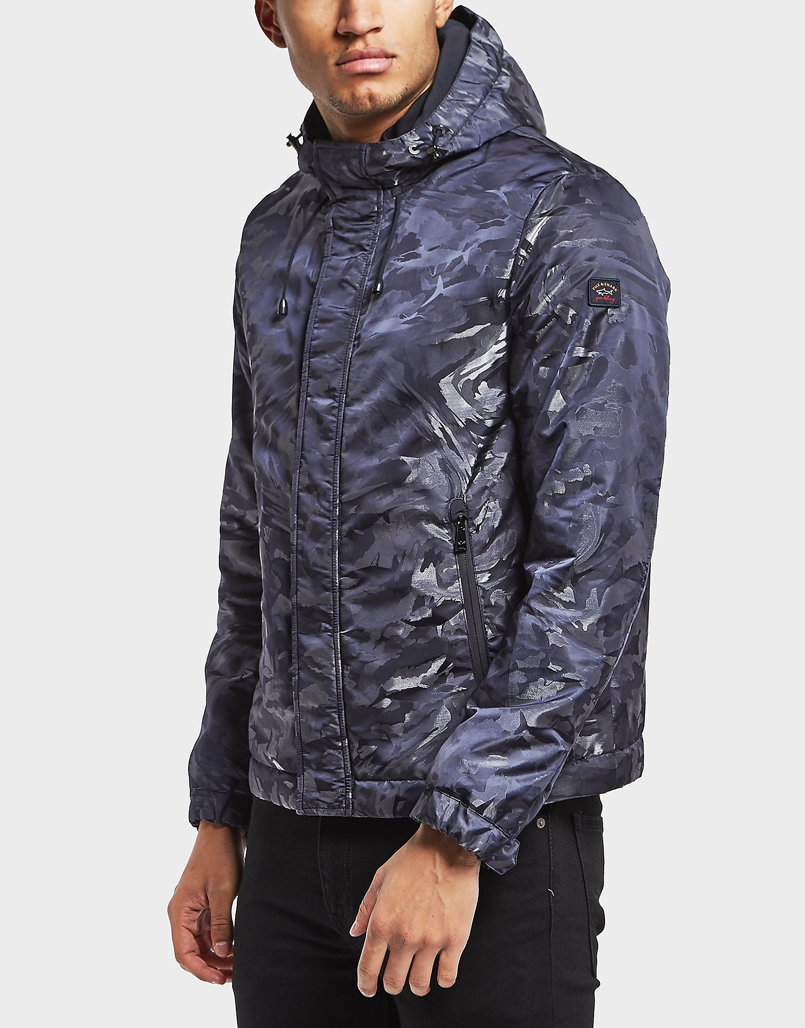 Paul and Shark Camoflauge Shark Padded Jacket