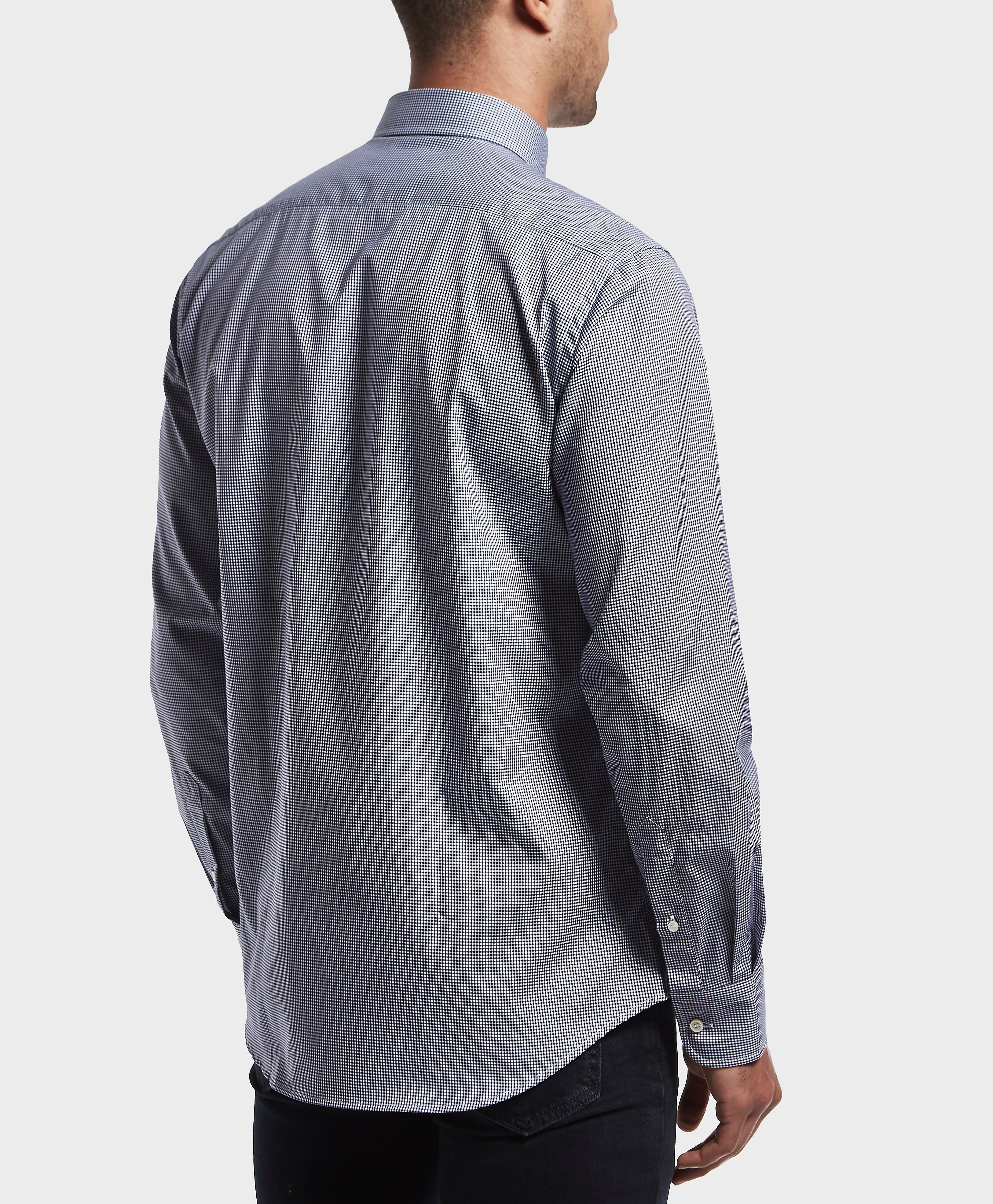 Paul and Shark Long Sleeve Gingham Shirt