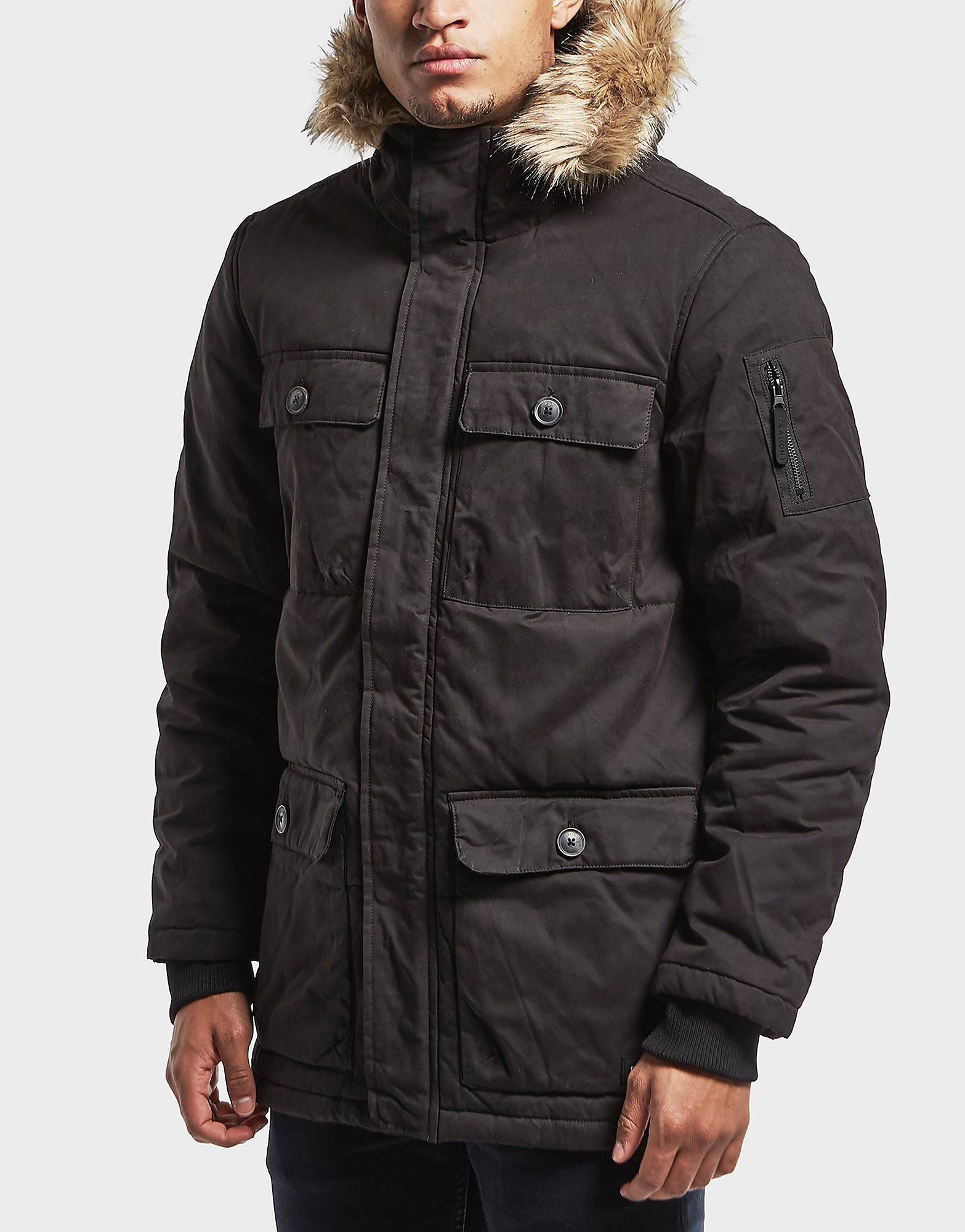One True Saxon Mason Padded Parka