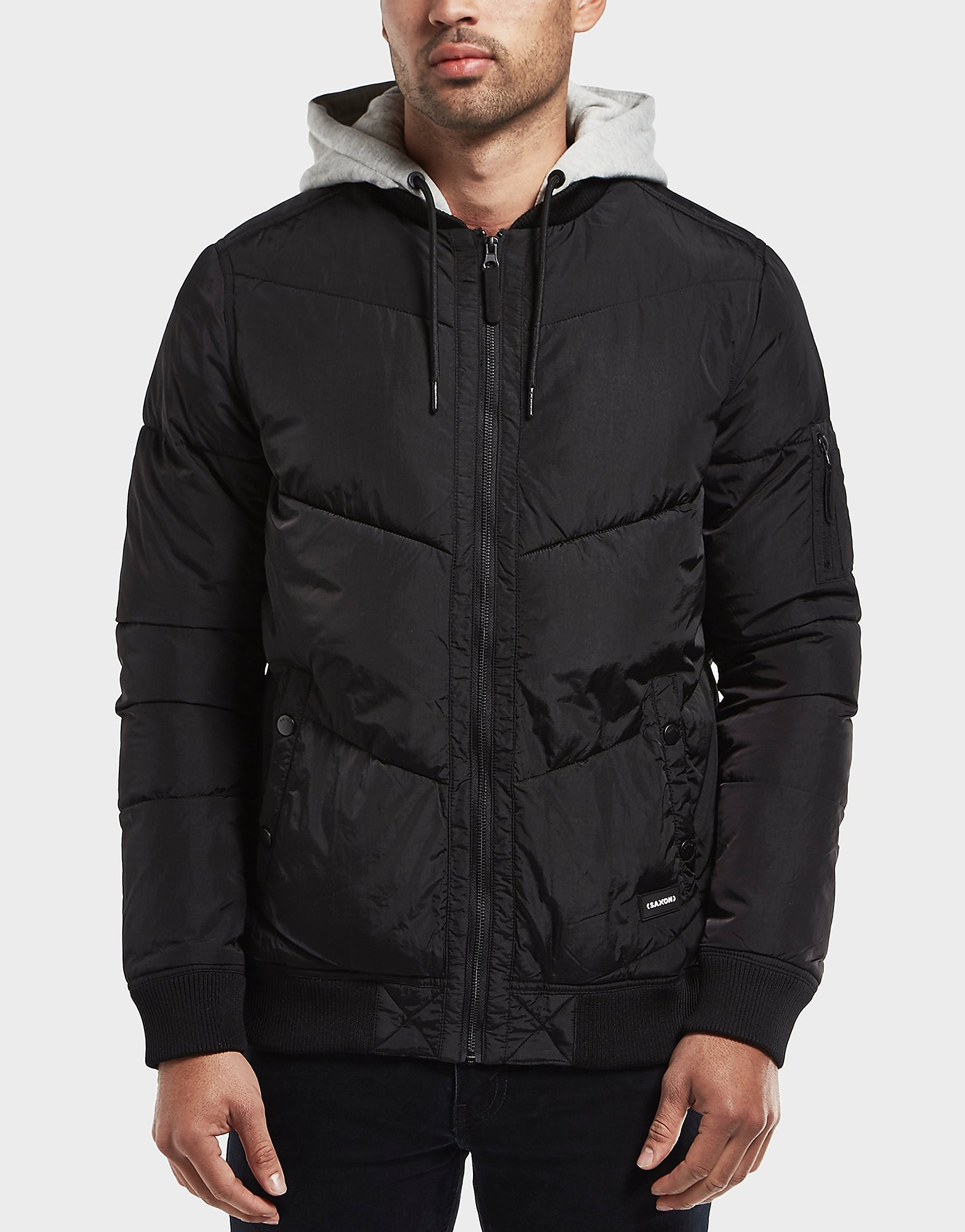 One True Saxon Credit Padded Jacket