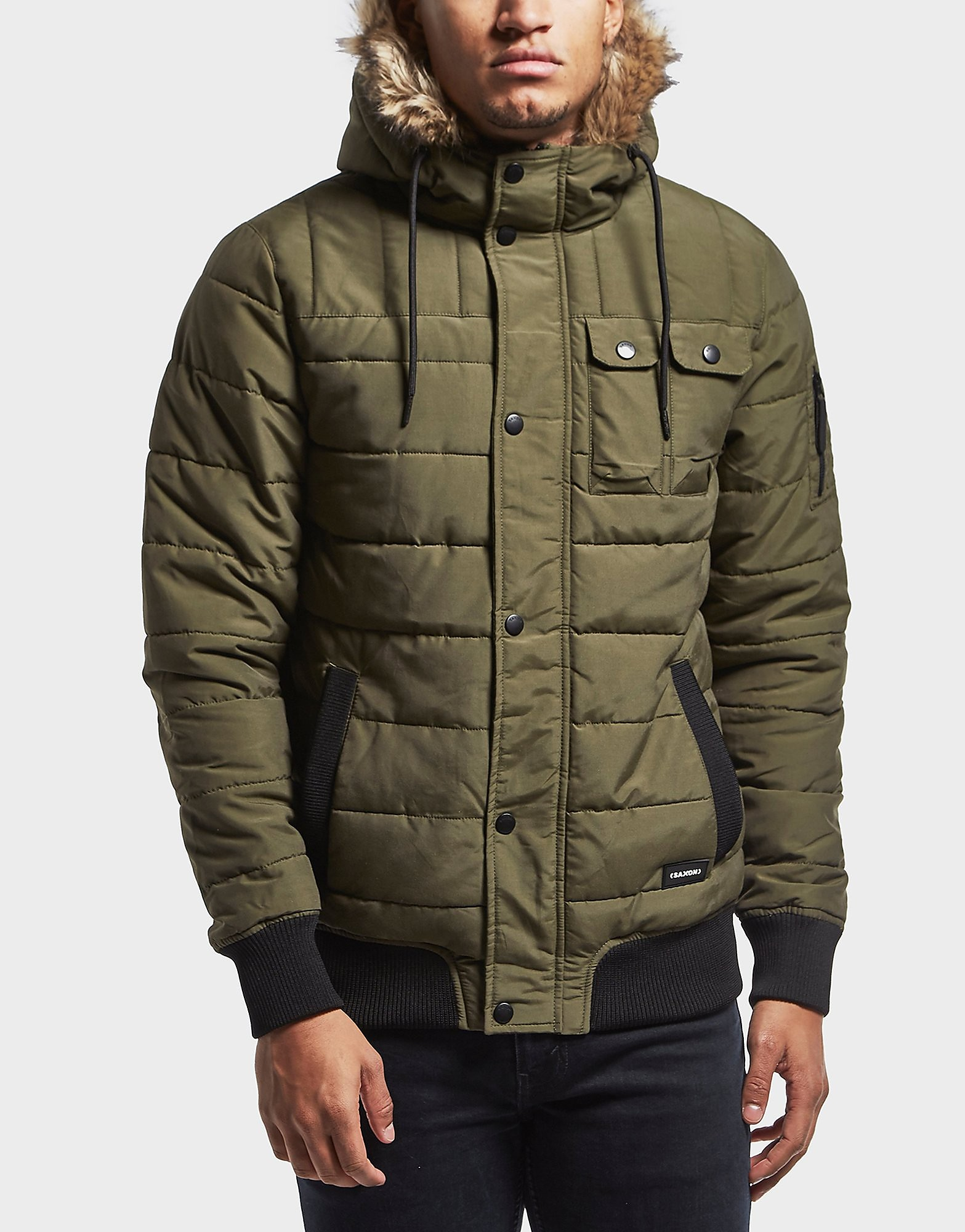 One True Saxon Logical Padded Parka