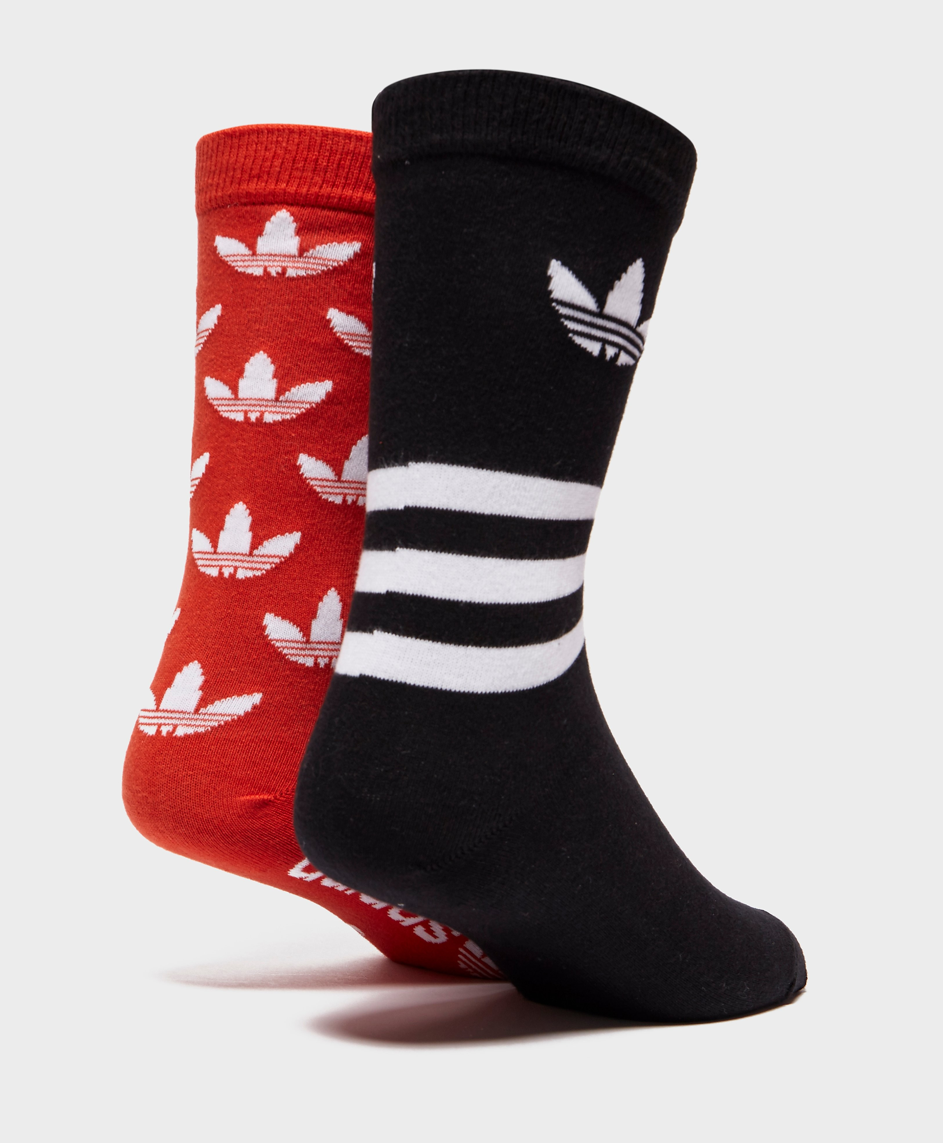 adidas Originals 2-Pack Trefoil Crew Socks
