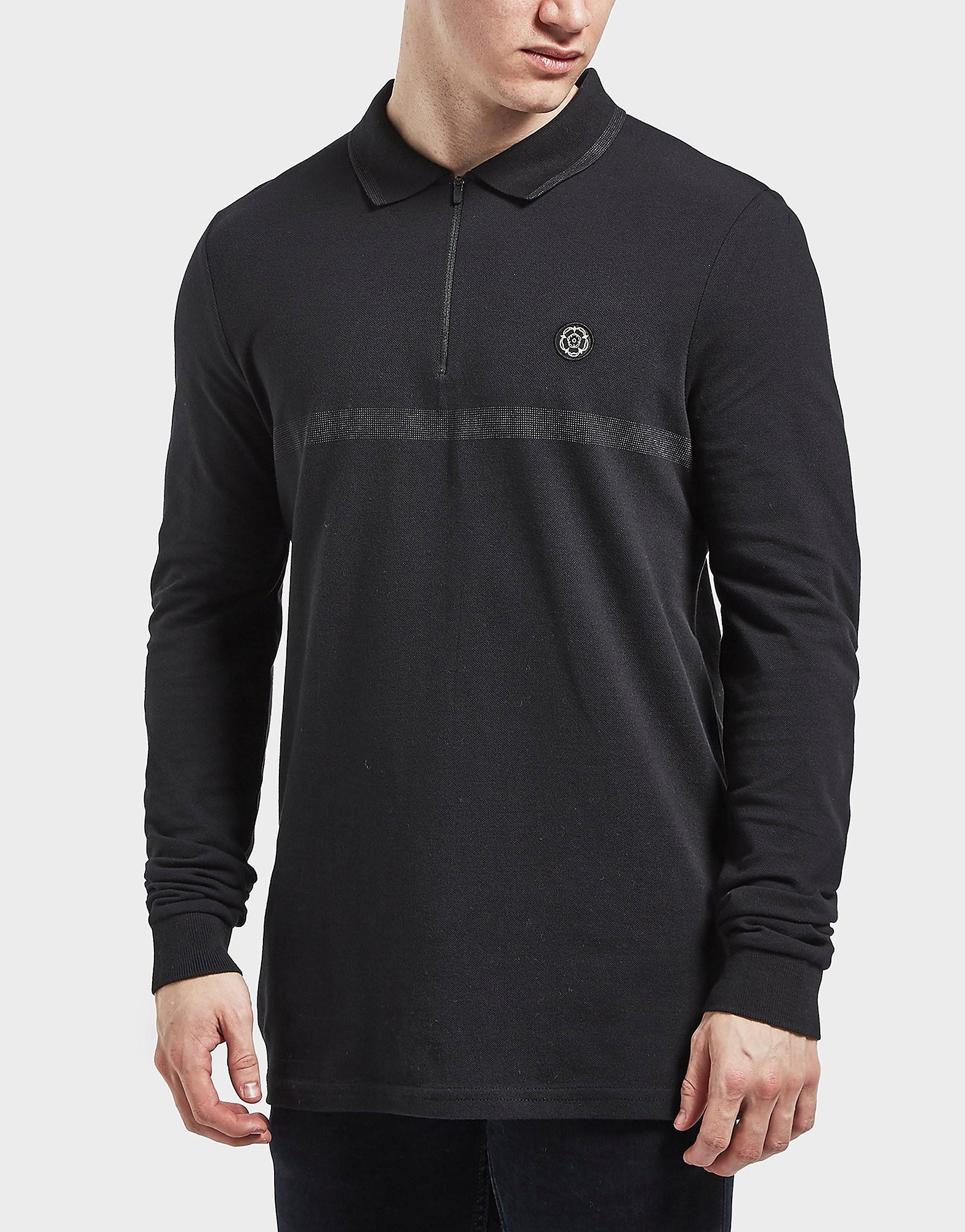 Nicholas Deakins Dapur Long Sleeve Polo Shirt