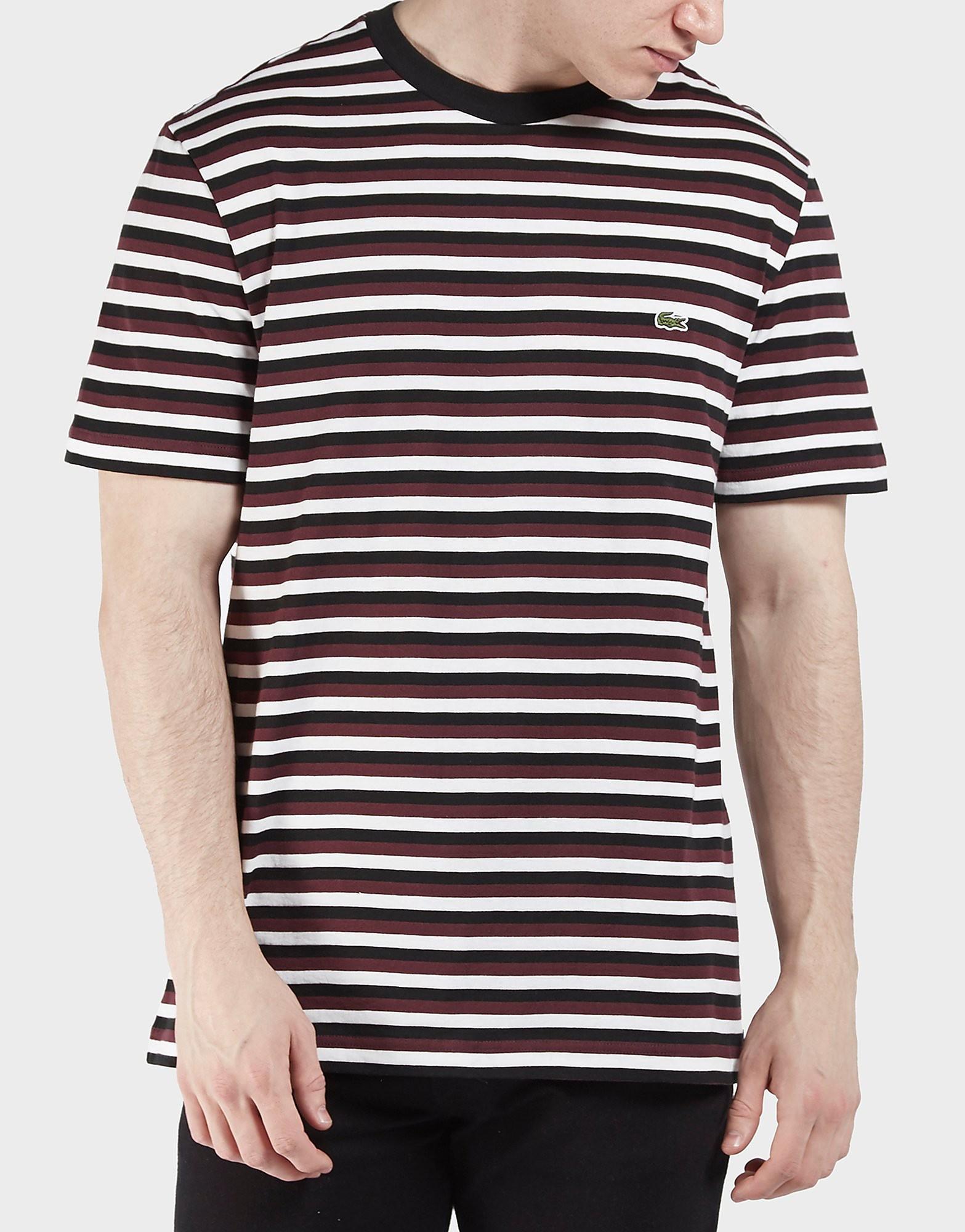 Lacoste Multi Stripe Short Sleeve T-Shirt