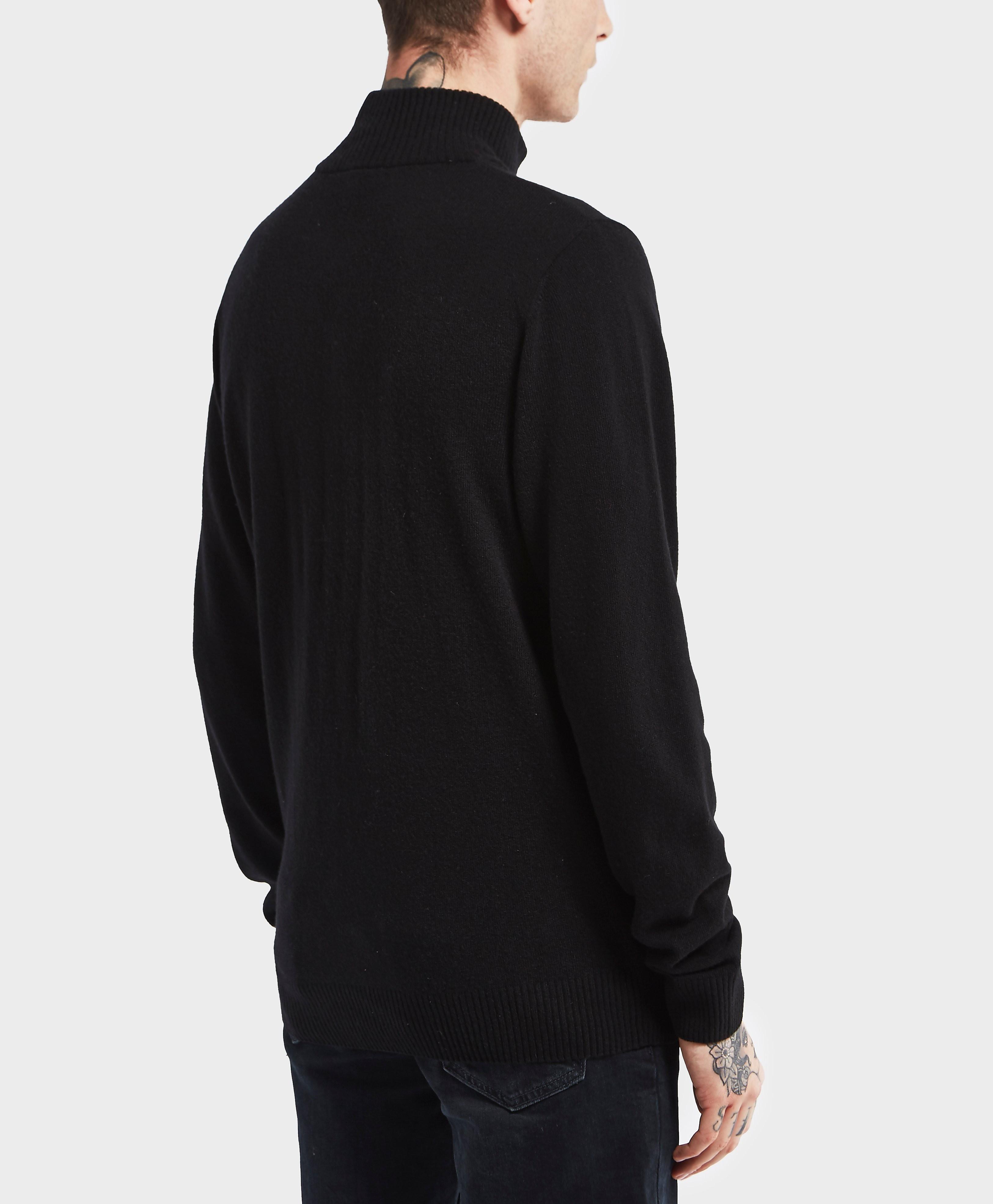 Lacoste Half Zip Knitted Jumper