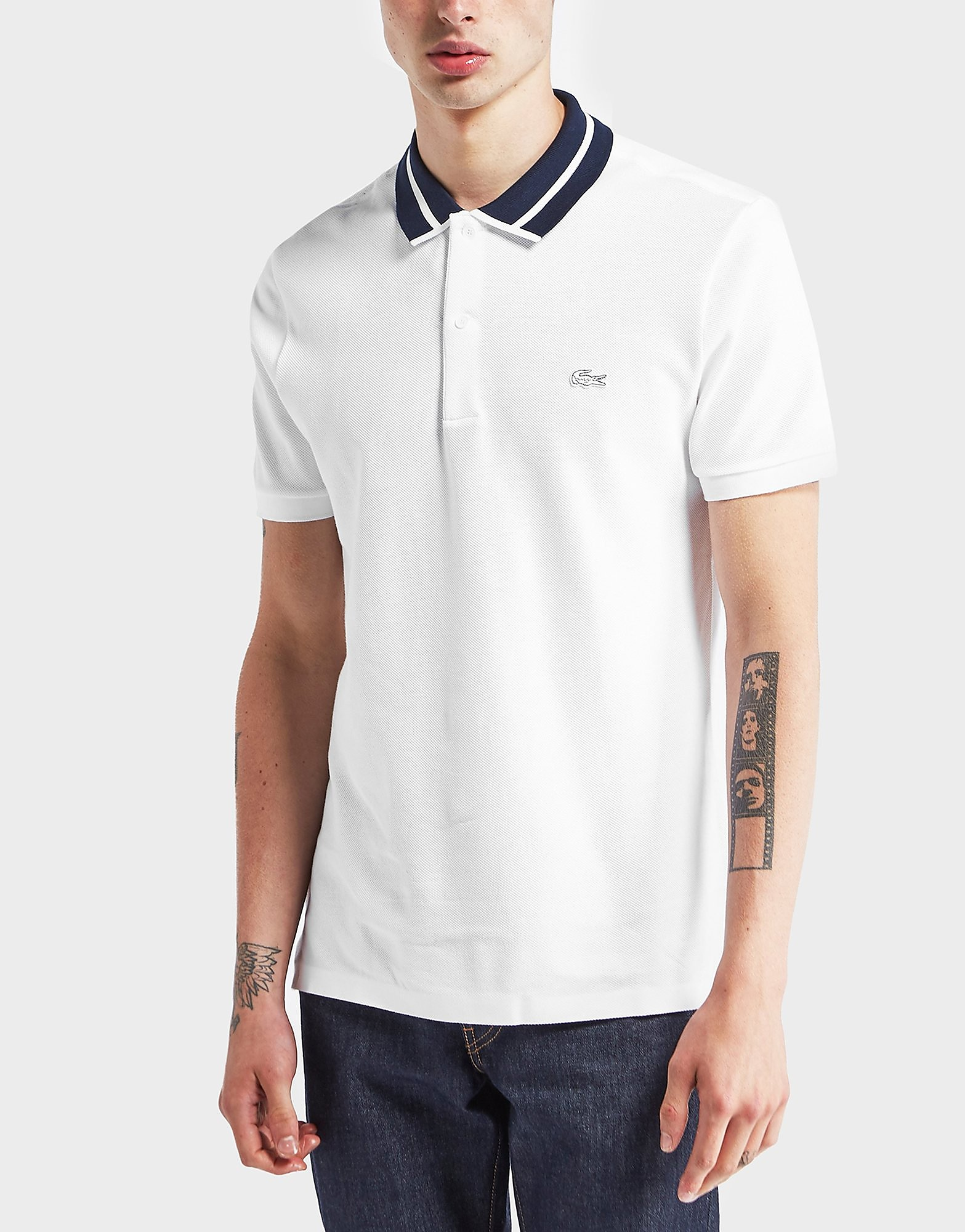 Lacoste Tonal Croc Pique Short Sleeve Polo Shirt