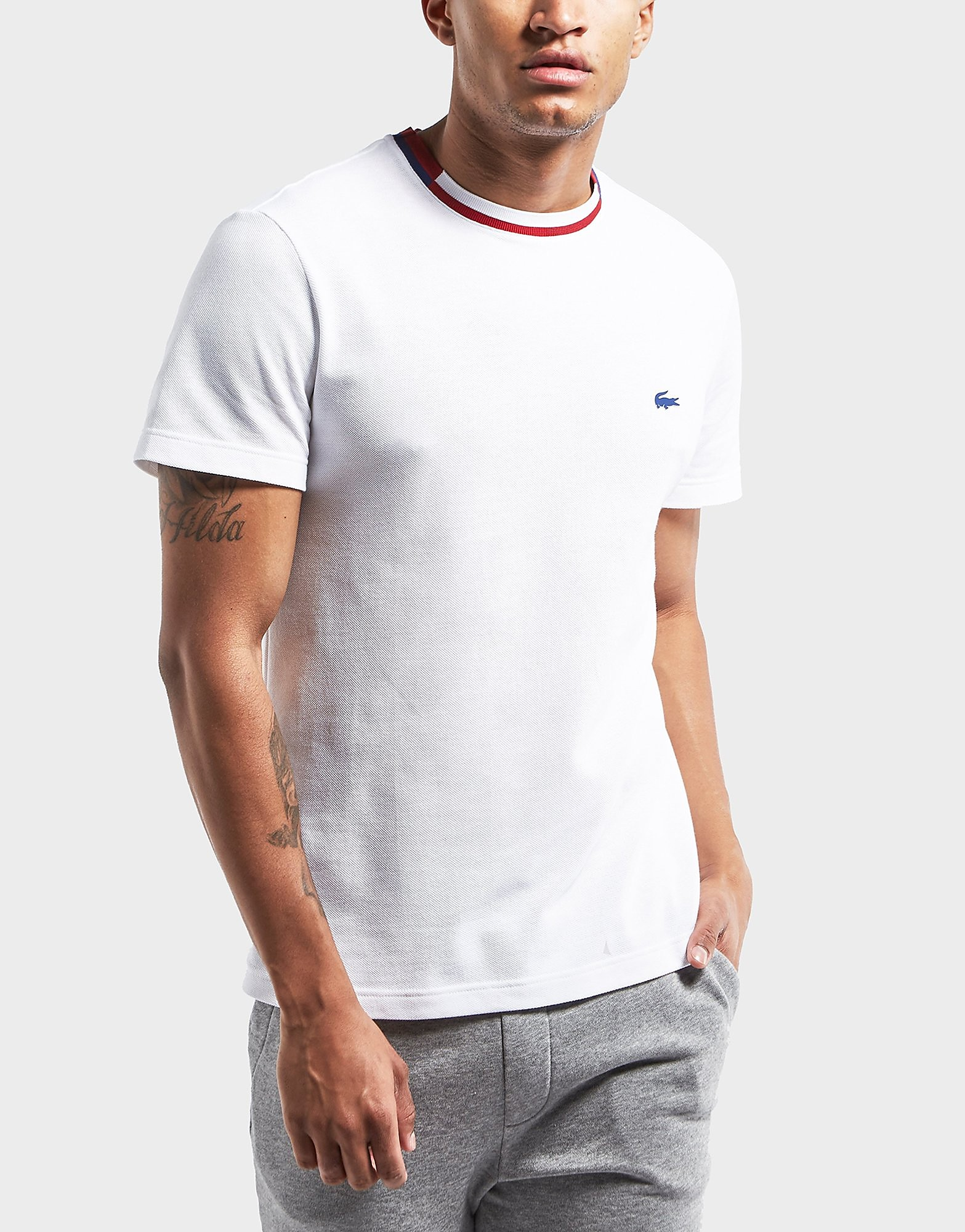 Lacoste Rubber Cros Short Sleeve T-Shirt