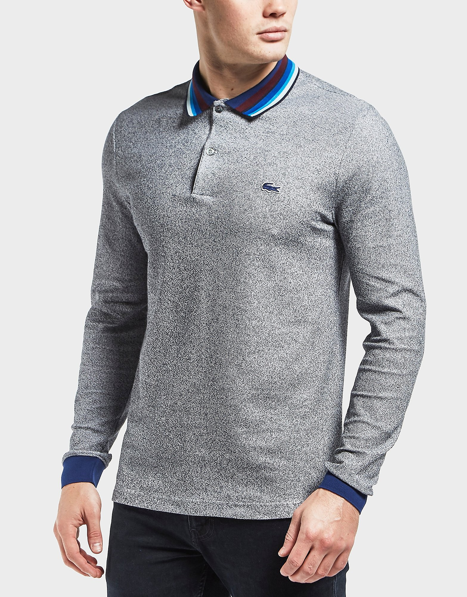 Lacoste Multi Collar Long Sleeve Polo Shirt
