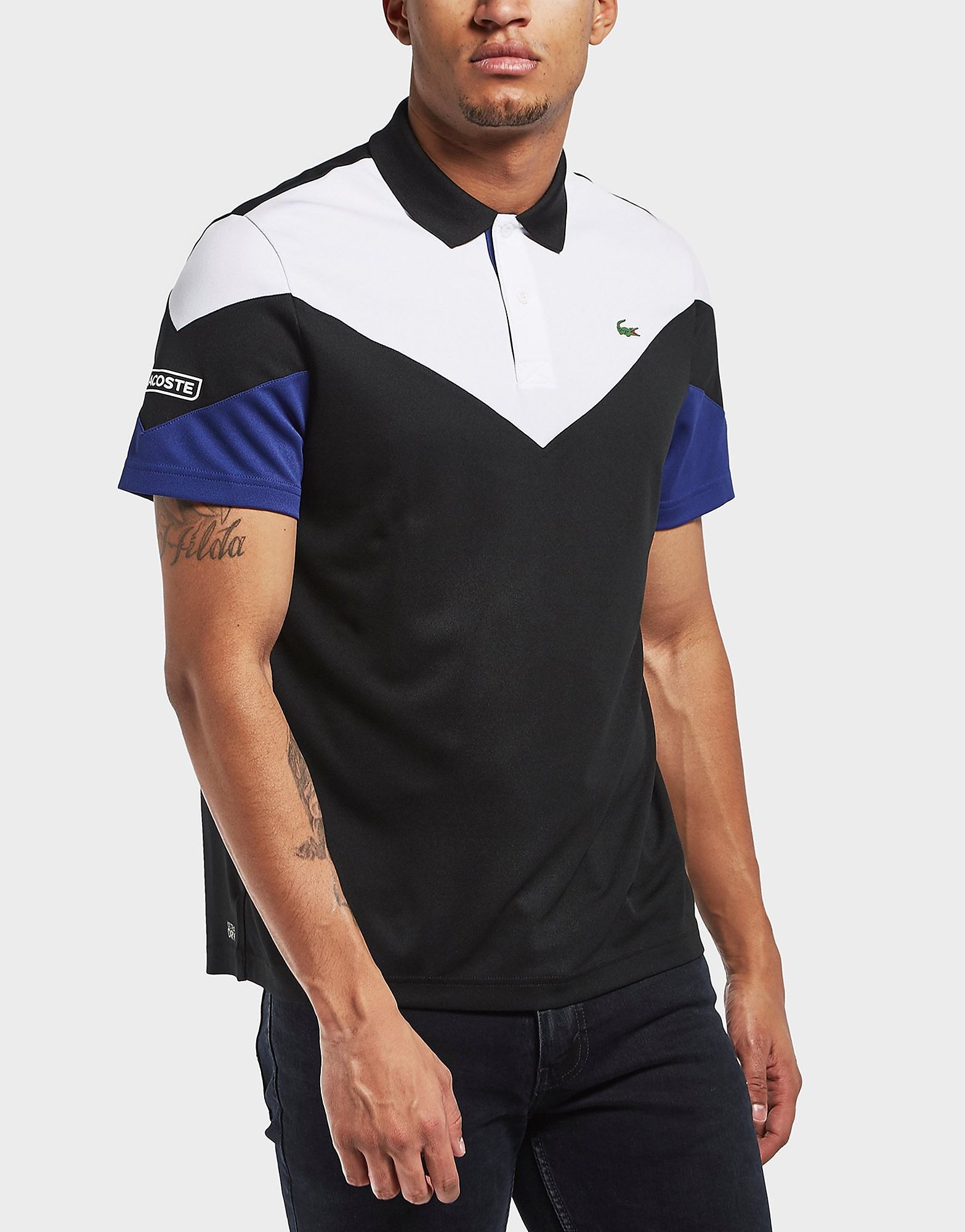 Lacoste Tech Pique Short Sleeve Polo Shirt