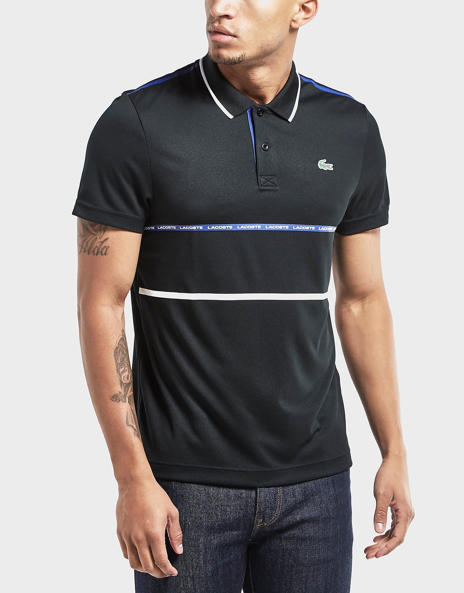 Lacoste Twin Stripe Short Sleeve Polo Shirt