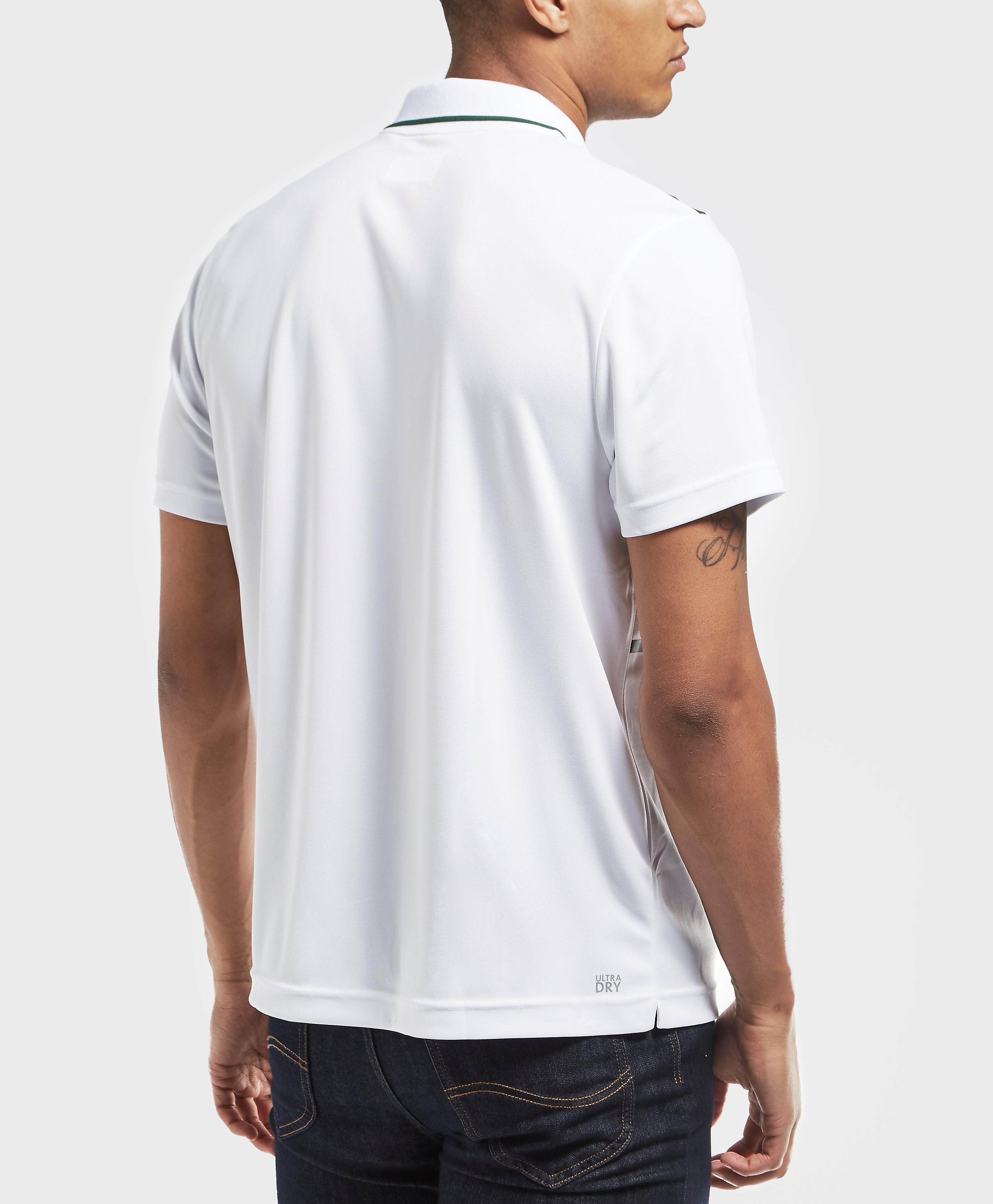 Lacoste Twin Stripe Short Sleeve Polo Shirt