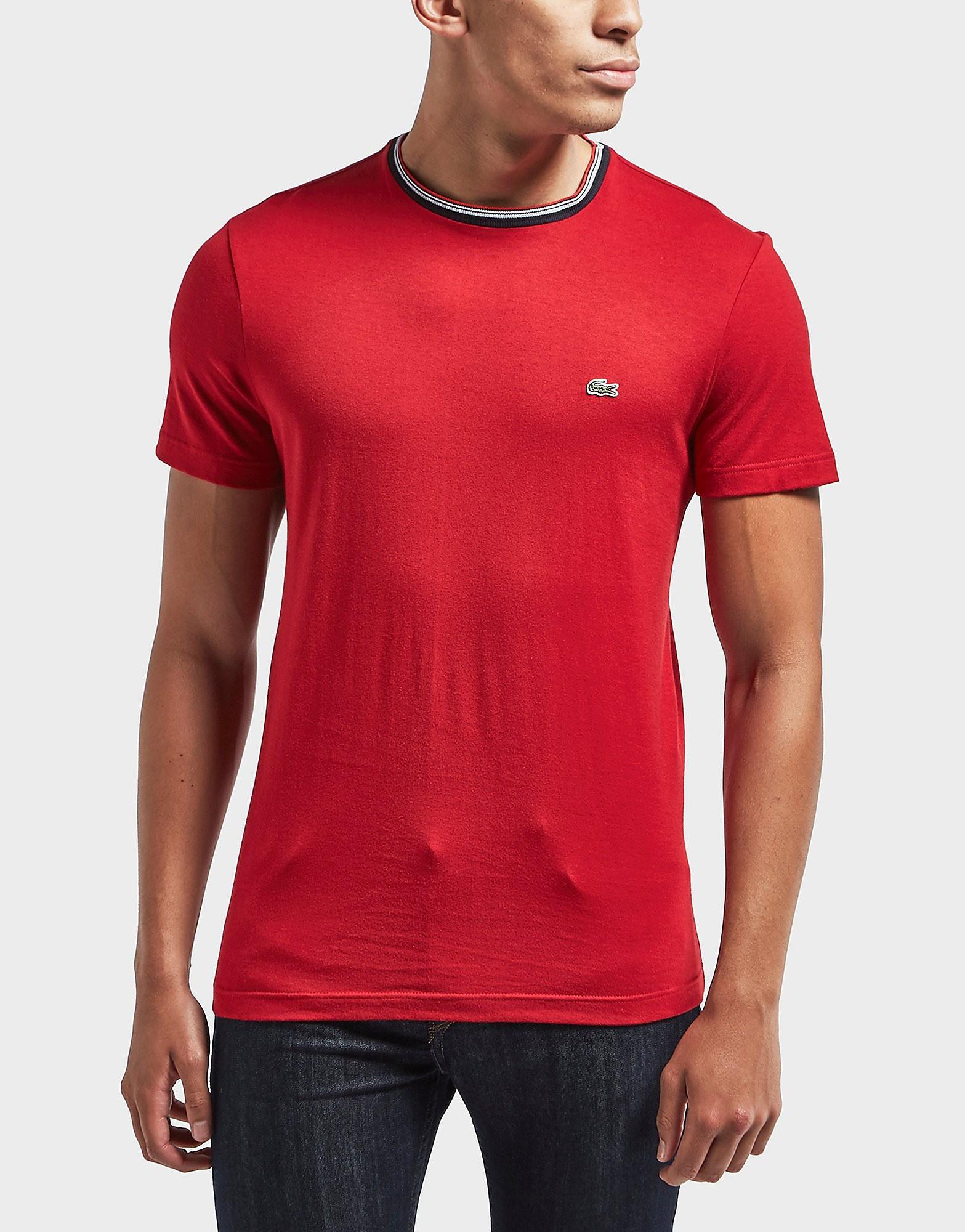 Lacoste Ringer Crew Short Sleeve T-Shirt