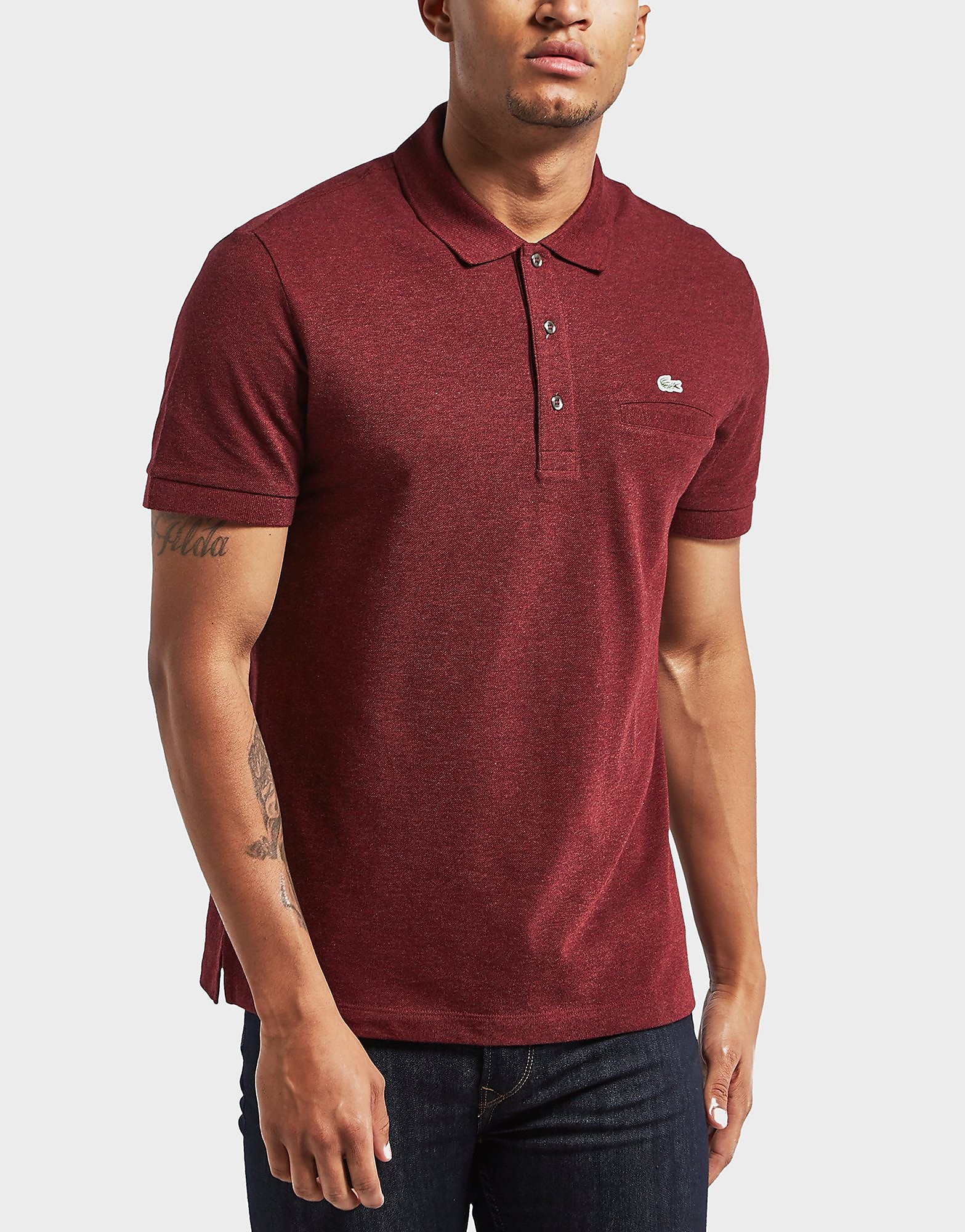 Lacoste Pocket Short Sleeve Polo Shirt