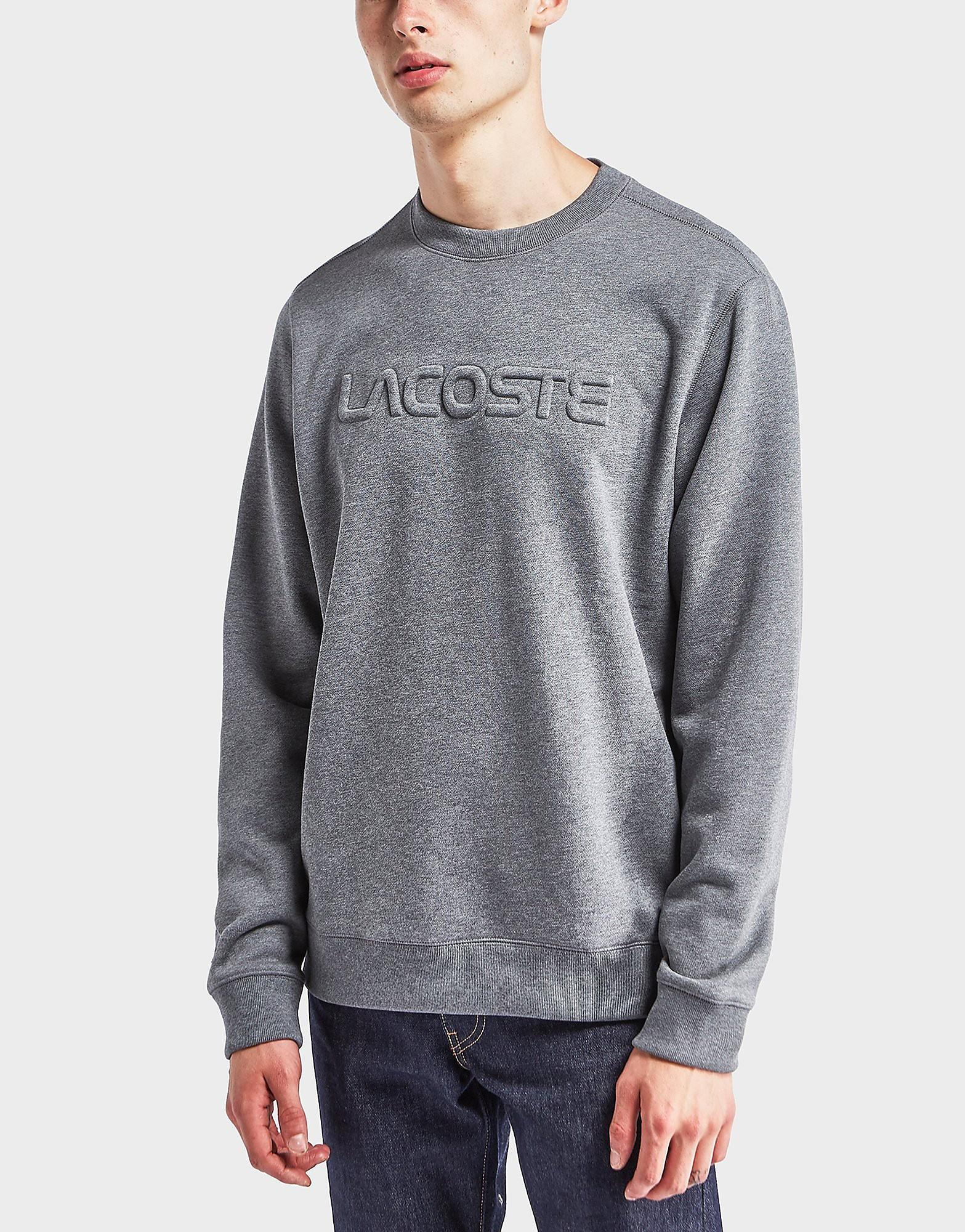 Lacoste Embossed Logo Sweatshirt