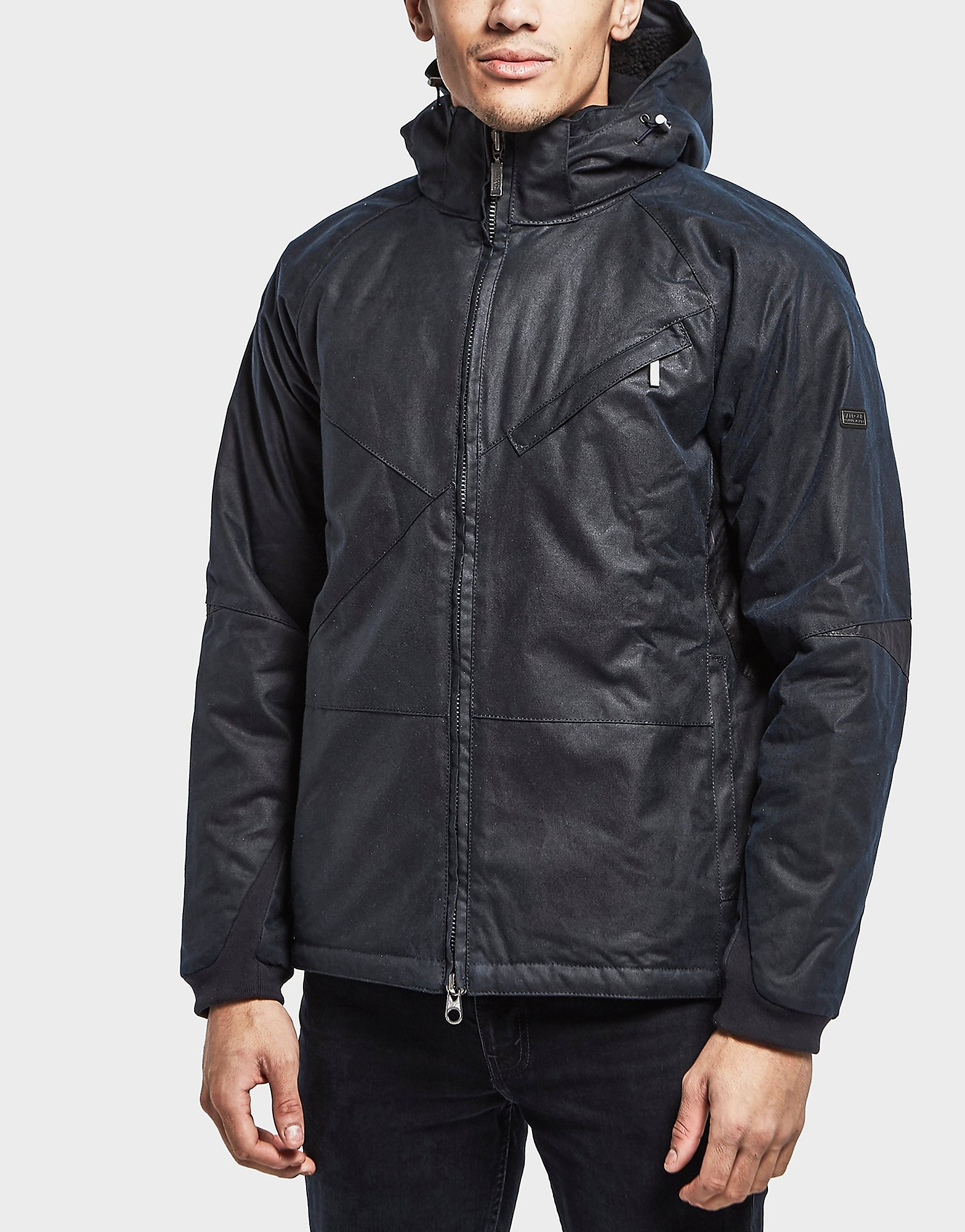 Barbour International Wax Leeve Padded Jacket
