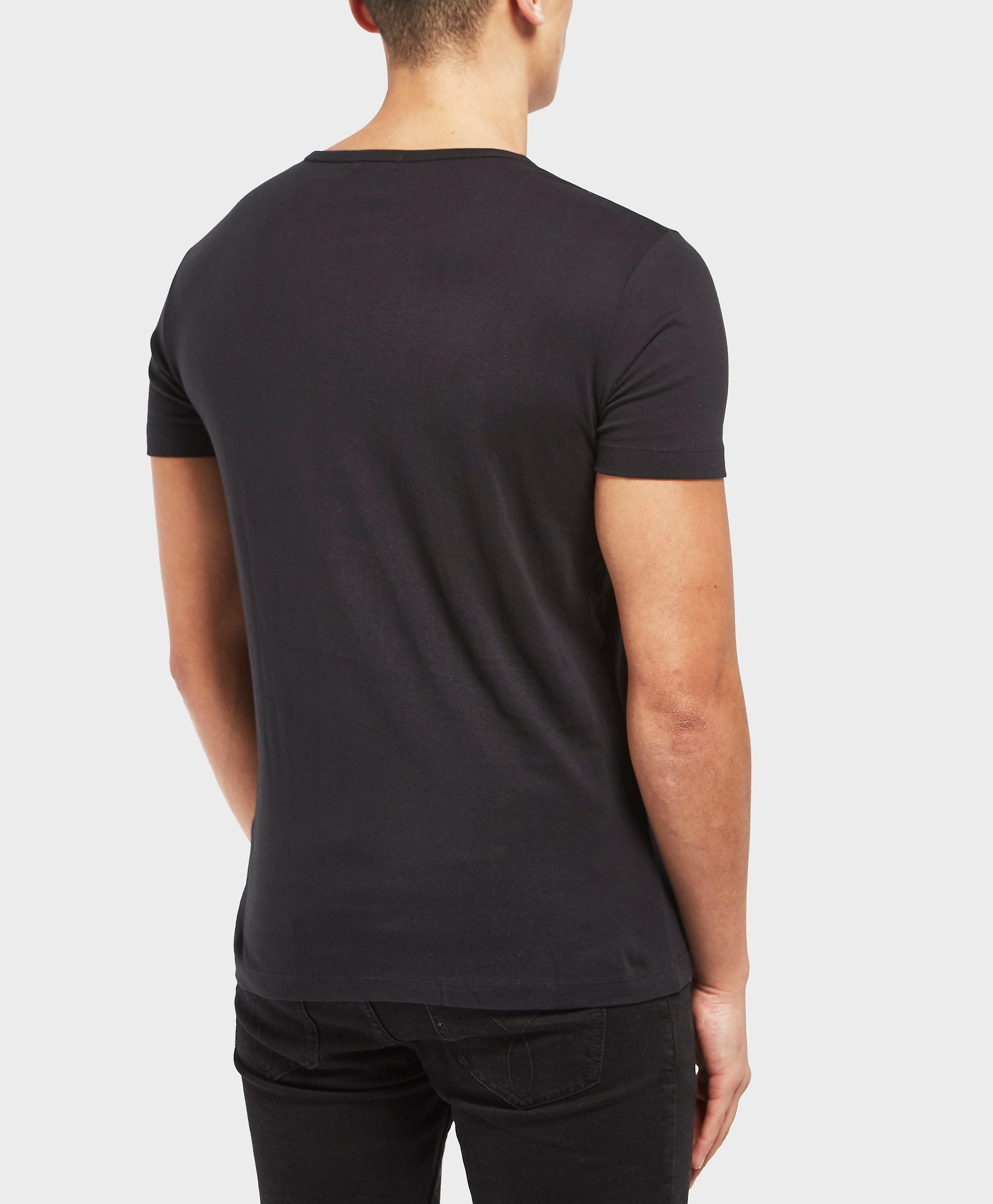 Calvin Klein Block Logo Short Sleeve T-Shirt