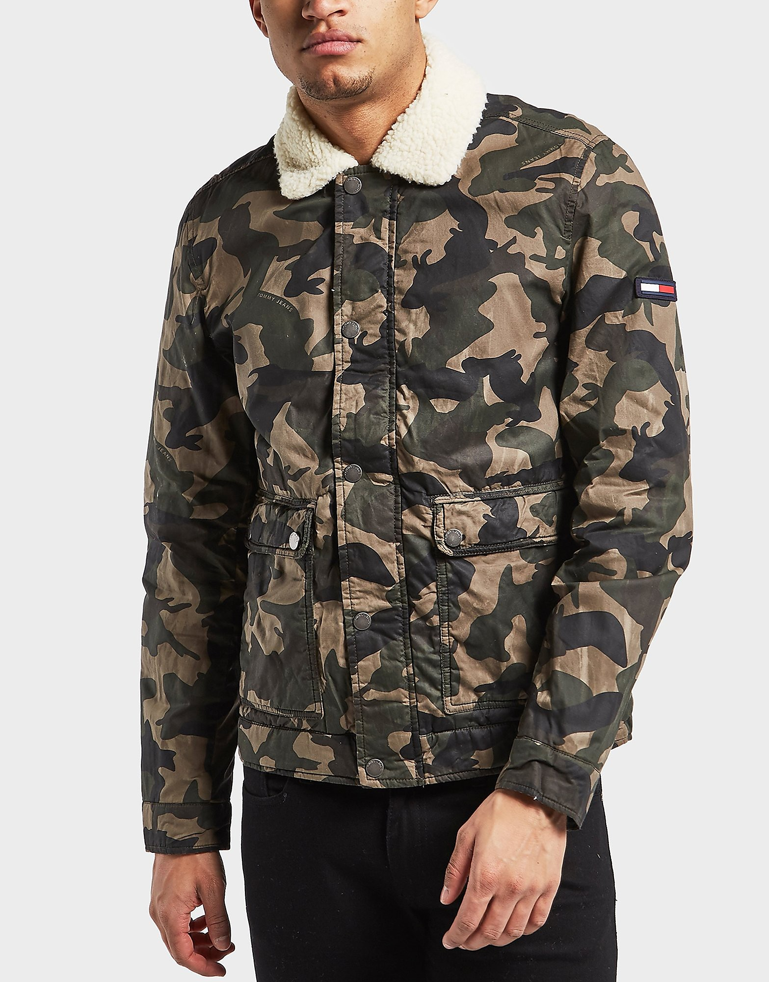 Tommy Hilfiger Camouflage Sherpa Jacket