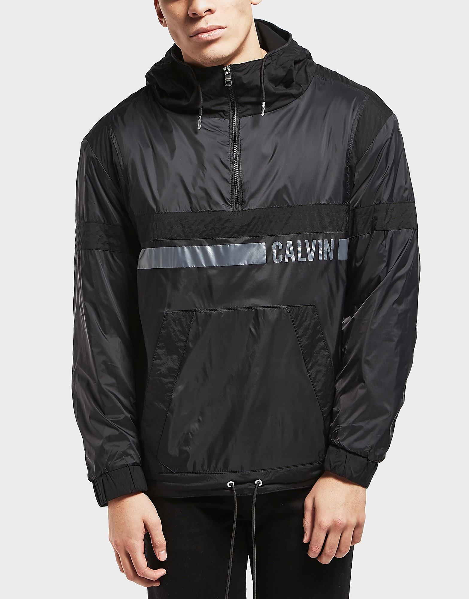 Calvin Klein Ooster Overhead Lightweight Half Zip Anorak