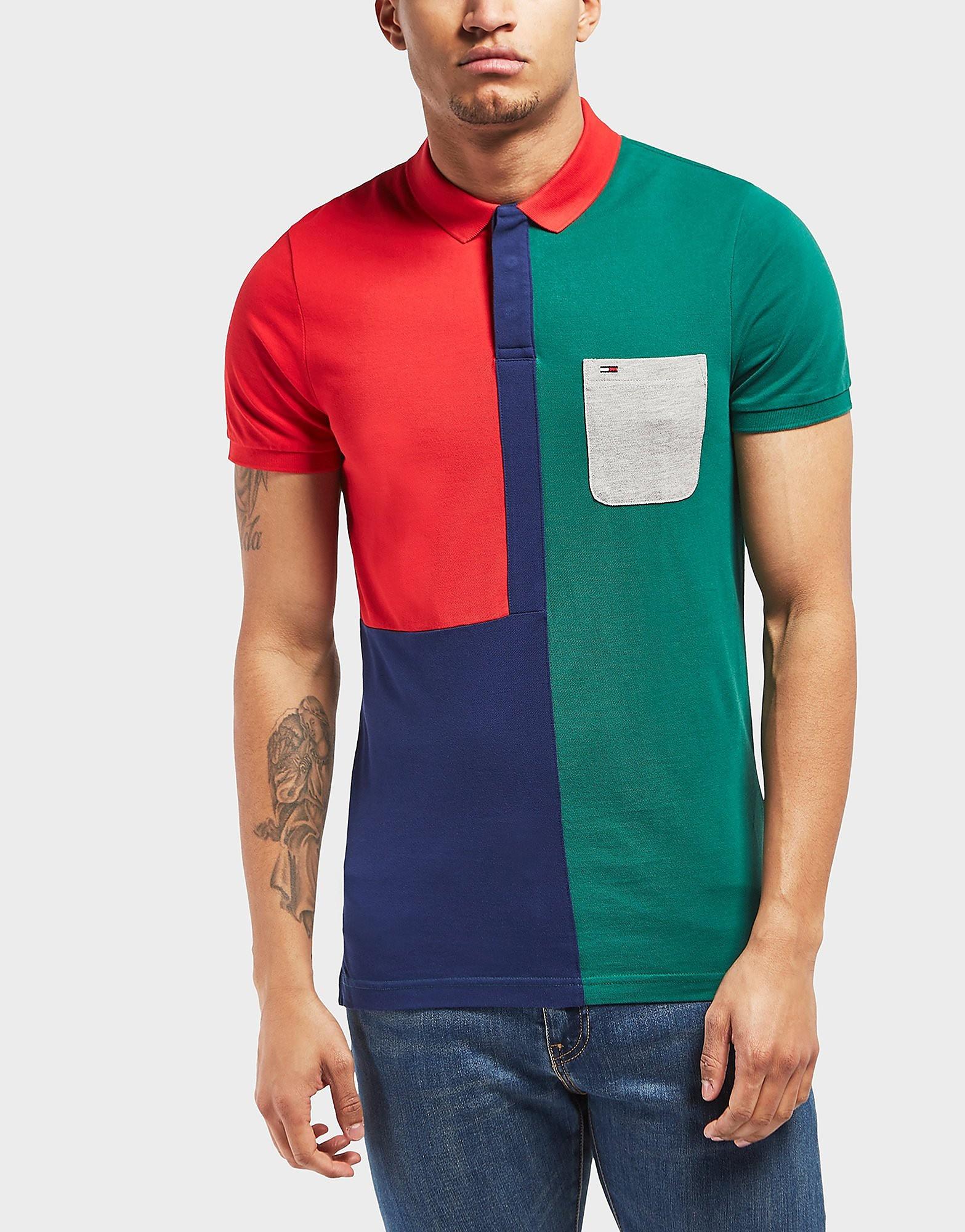 Tommy Hilfiger Vintage Block Short Sleeve Polo Shirt