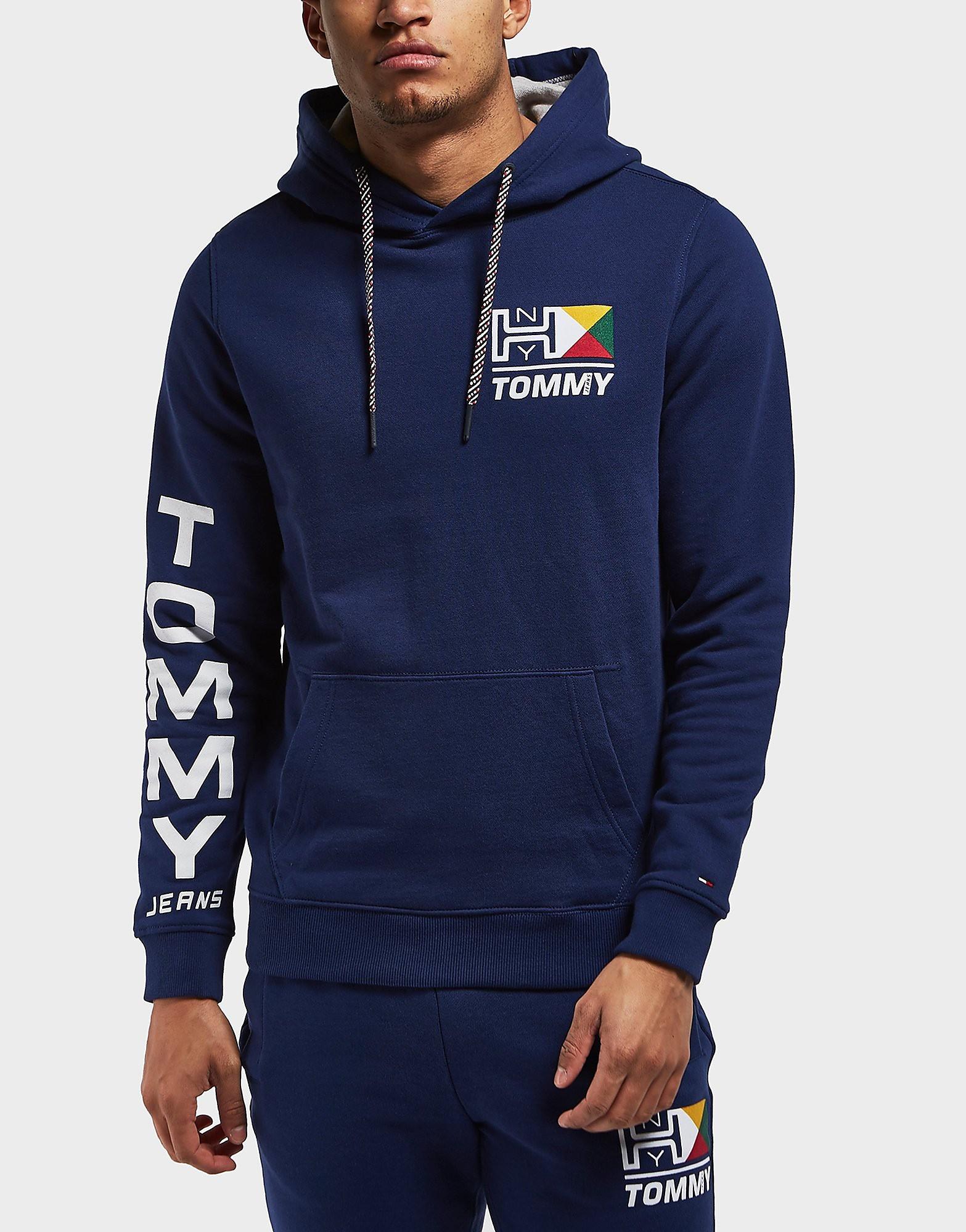 Tommy Hilfiger Retro Logo Overhead Hoodie