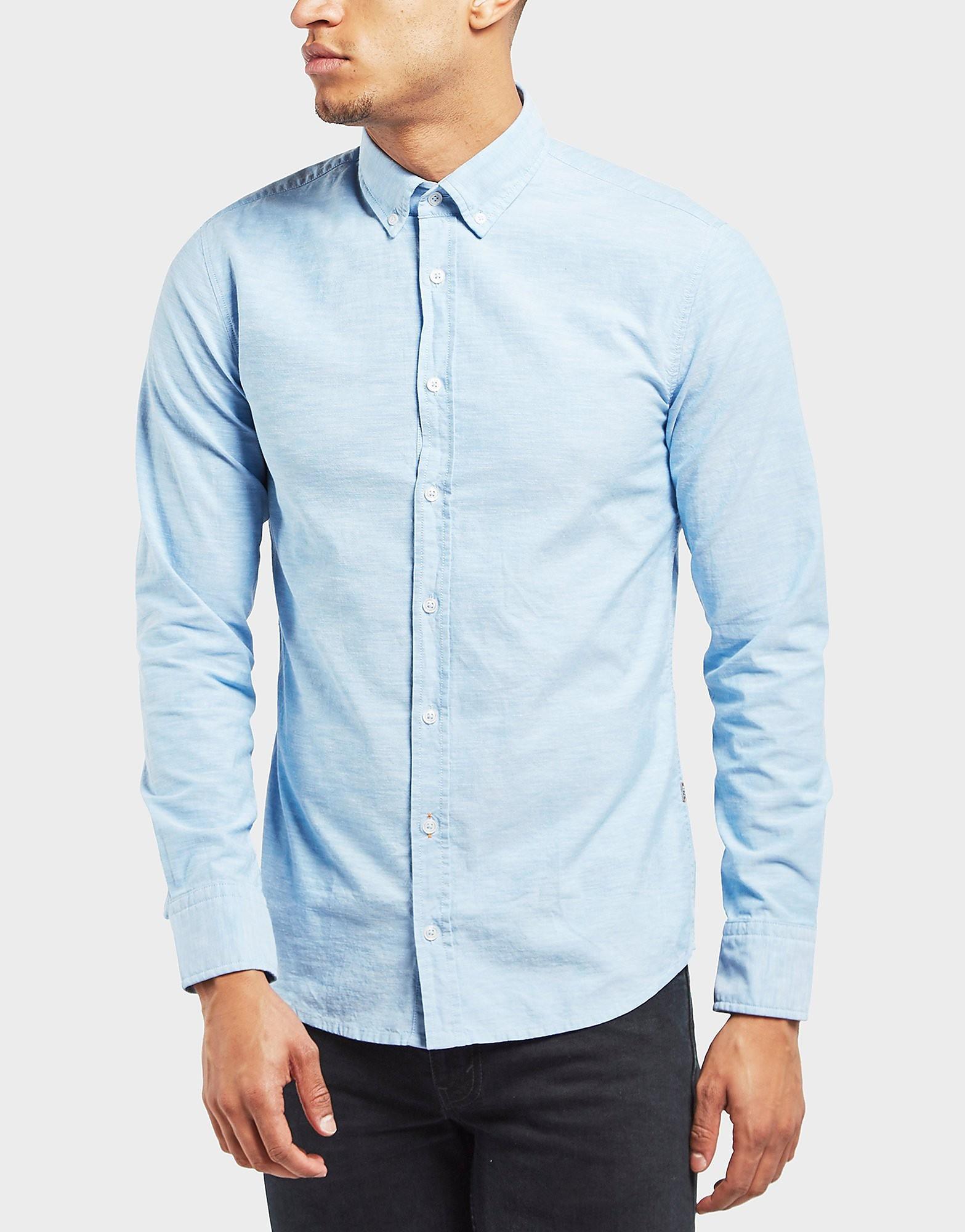 BOSS Orange Preppy Oxford Long Sleeve Shirt