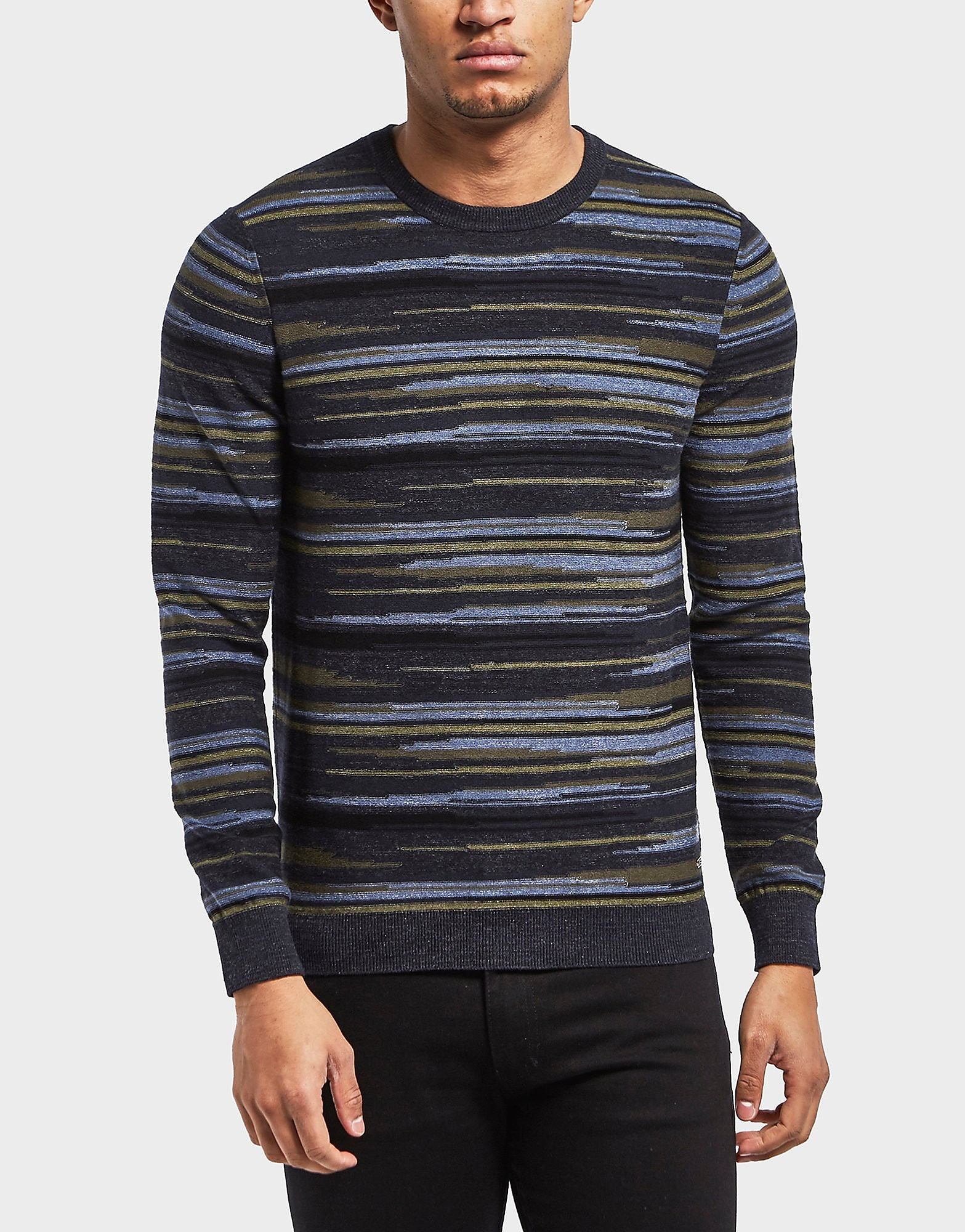 BOSS Krallgo Stripe Knitted Jumper