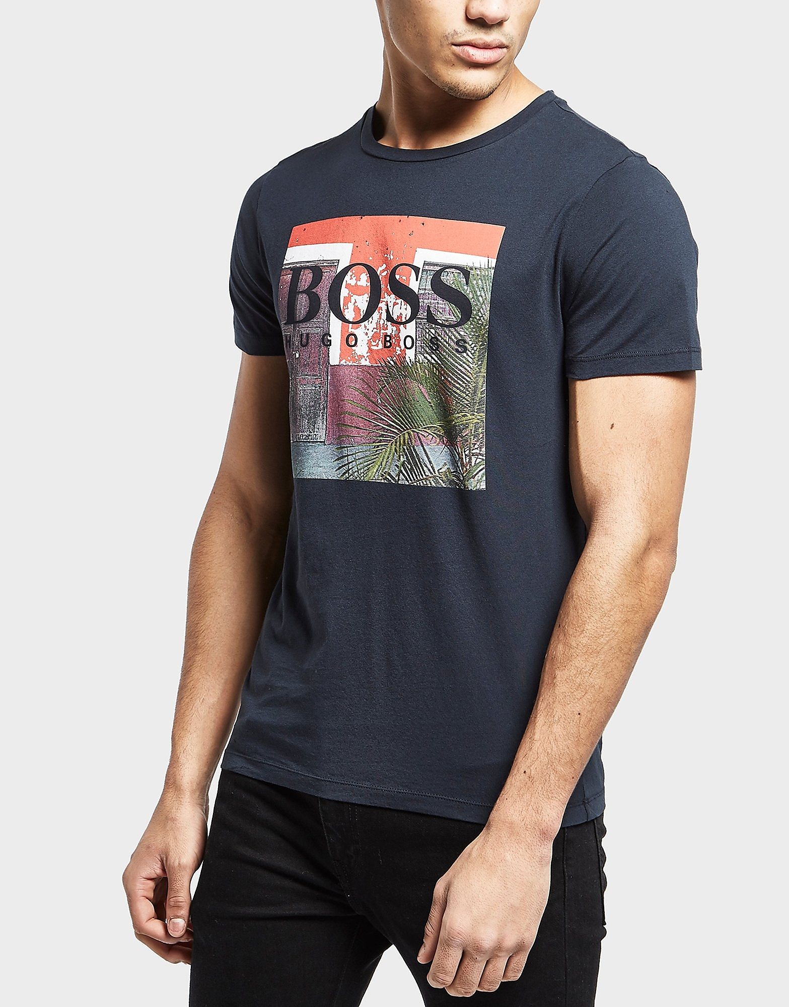 BOSS Orange Palm Short Sleeve T-Shirt